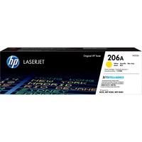 Hewlett Packard W2112A Yellow Toner for HP Color LaserJet Pro M255dw, M283fdw, M283cdw (HP W2112A, HP 206A) (1,250 Yield)