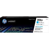 Hewlett Packard W2111A Cyan Toner for HP Color LaserJet Pro M255dw, M283fdw, M283cdw (HP W2111A, HP 206A) (1,250 Yield)