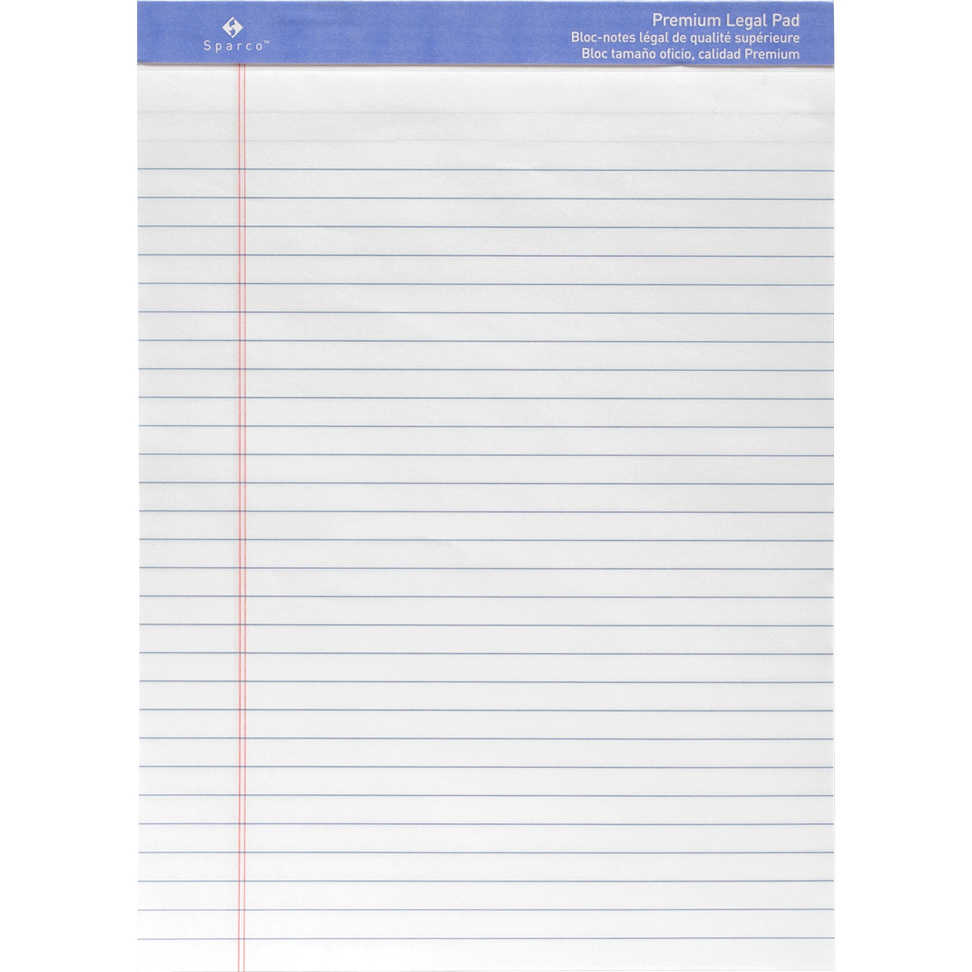 Canary Paper 63105 8-1//2x11-3//4 Business Source Micro-Perforated Legal Ruled Pads