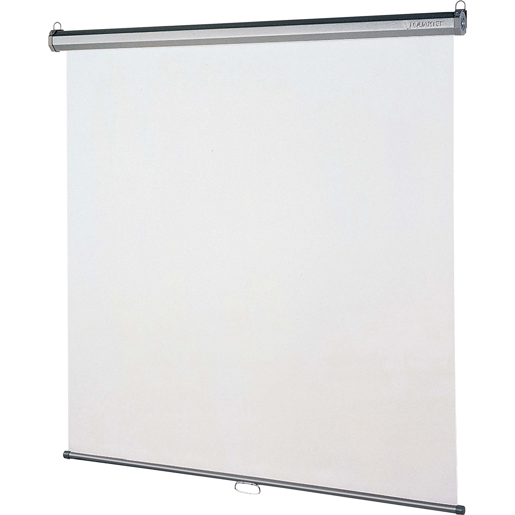 Quartet Manual Projection Screen 1 Wall Mount Ceiling 70 X Matte White