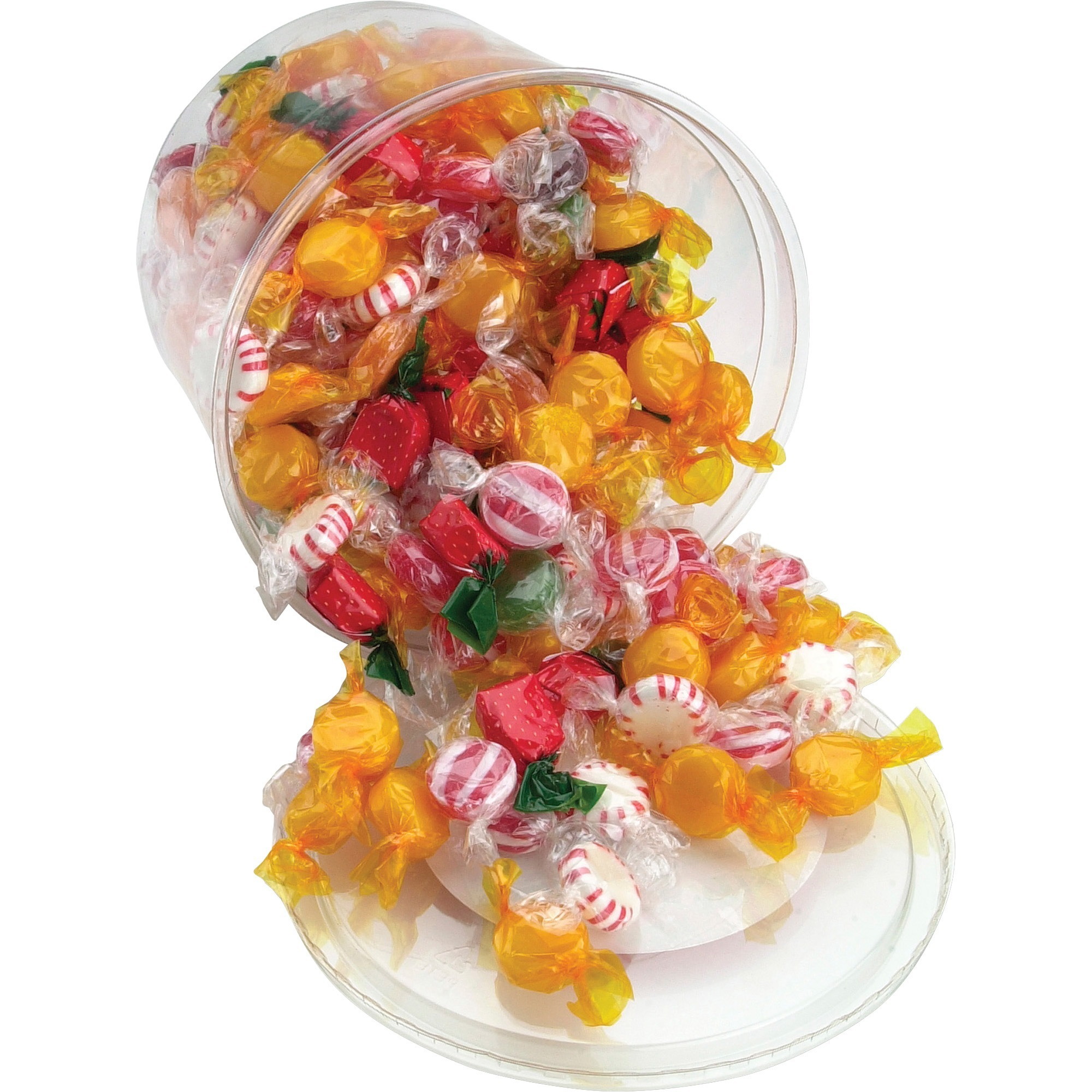 fancy office supplies. Office Snax Fancy Mix Hard Candy Tub - Resealable Container, Individually Wrapped 907.2 G 1 EachCanister Supplies D