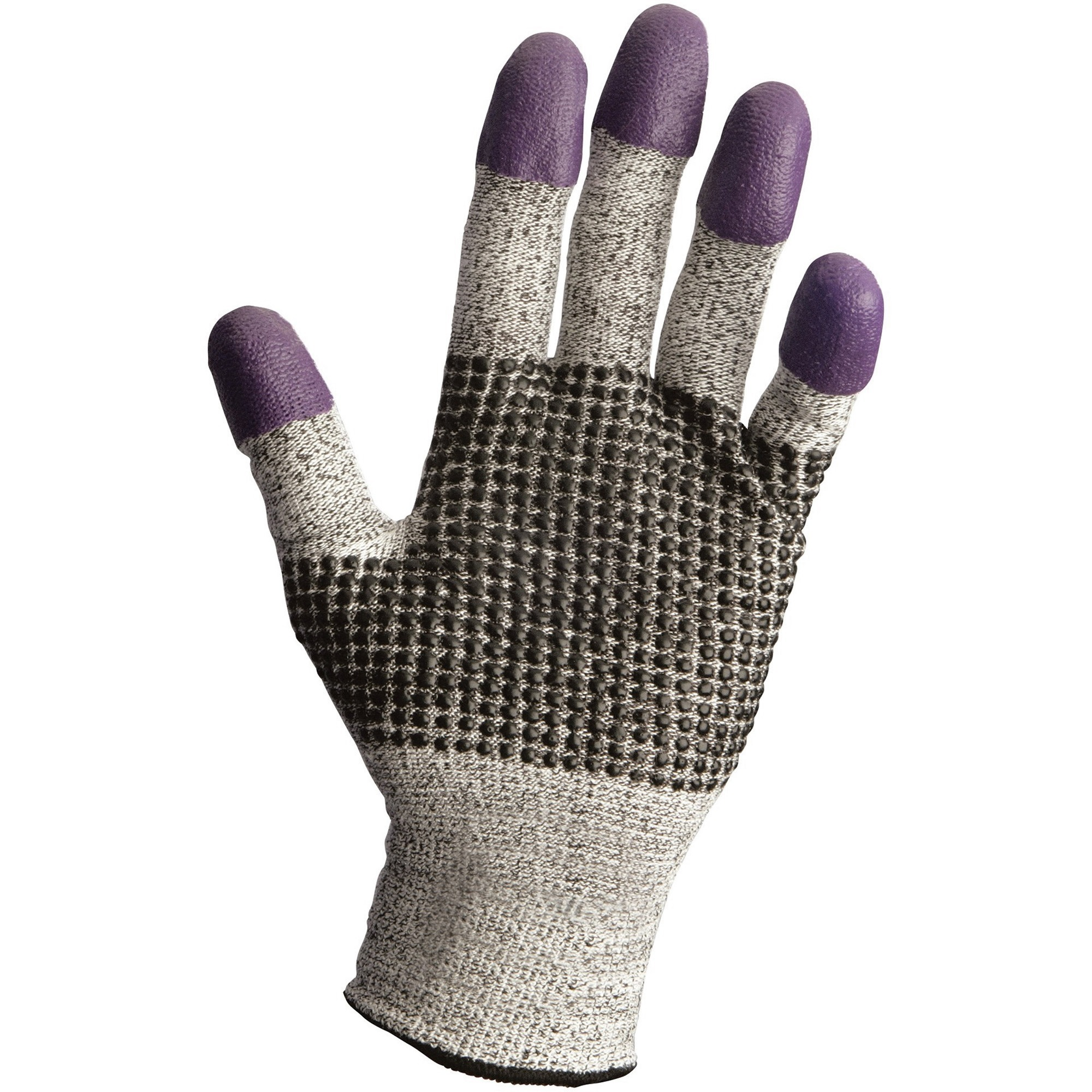 KleenGuard G60 Level 3 Purple Nitrile Cut-Resistant Gloves - 8 Size Number - Medium Size - Nitrile - Purple - Ambidextrous, Cut Resistant - 2 / Pair