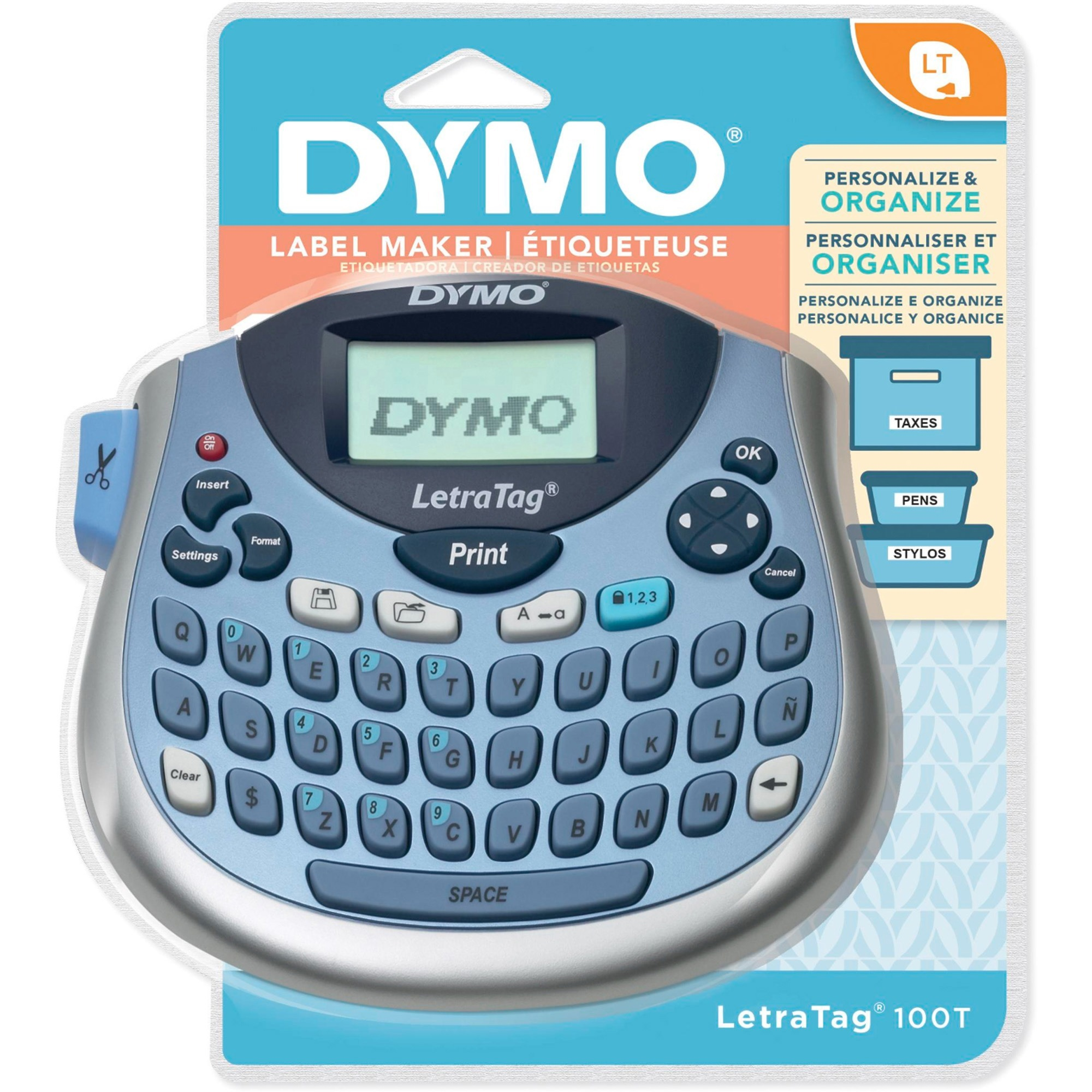 dymo letratag iron on labels instructions