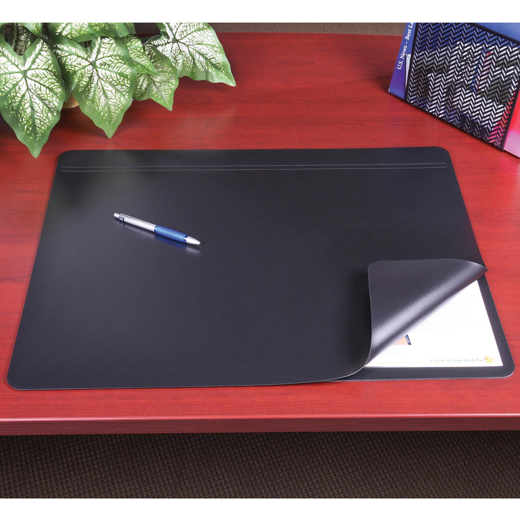 Artistic Hide Away Desk Pads Rectangle 24 609 60 Mm Width X 19 482 Depth Foam Rhinolin Black