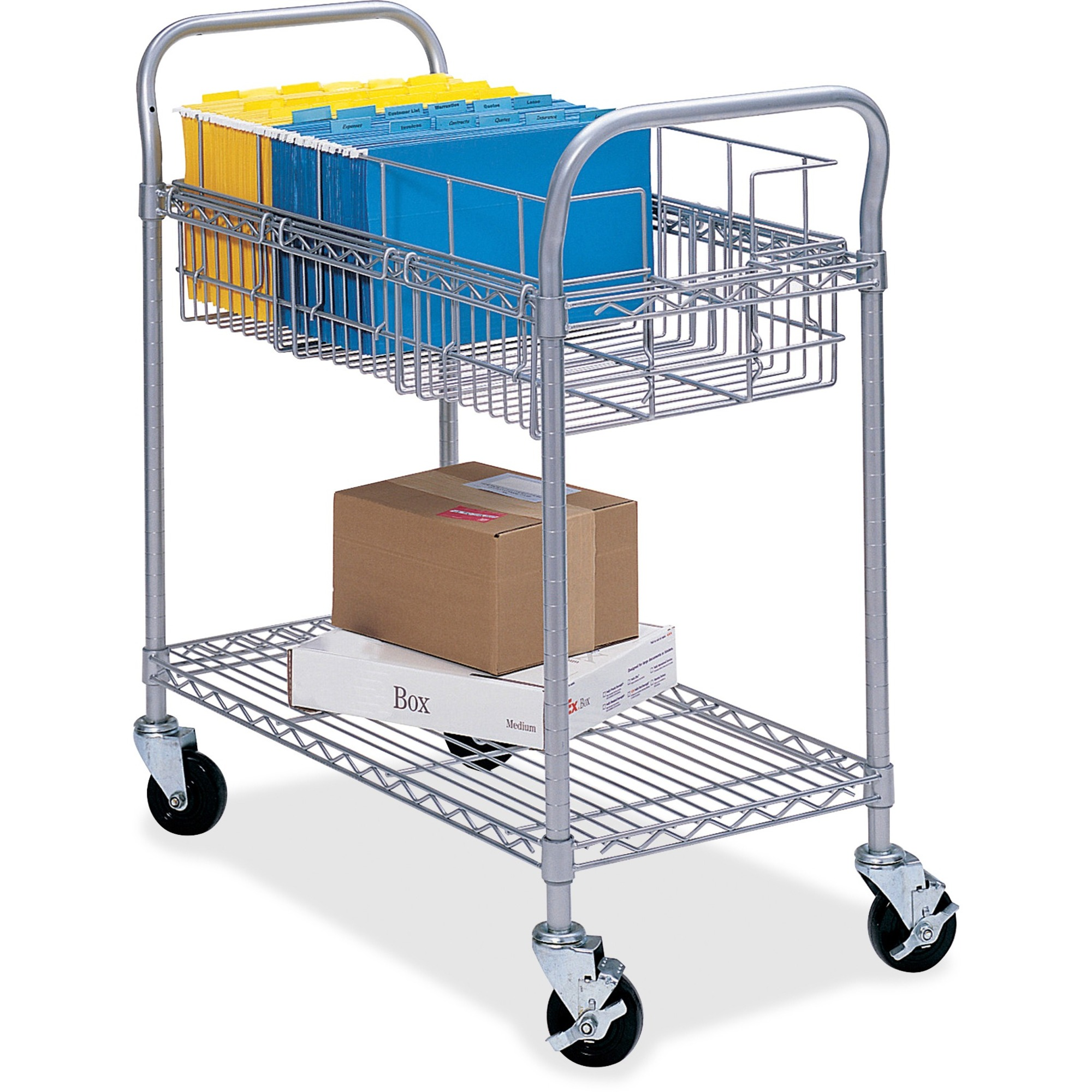 Safco Wire Mail Cart - Madill - The Office Company