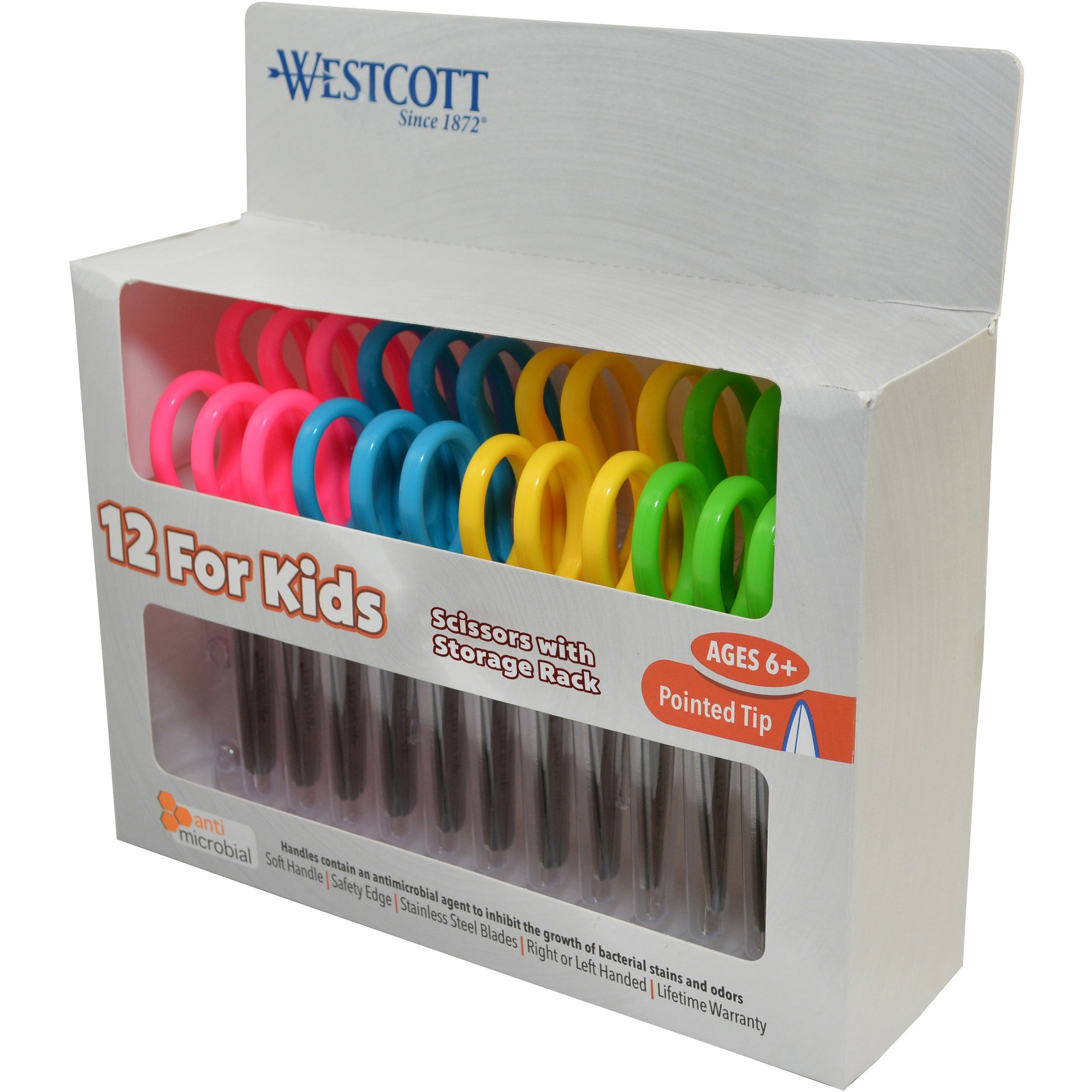 Westcott Kids Soft Handle Scissor Pack ACM14871