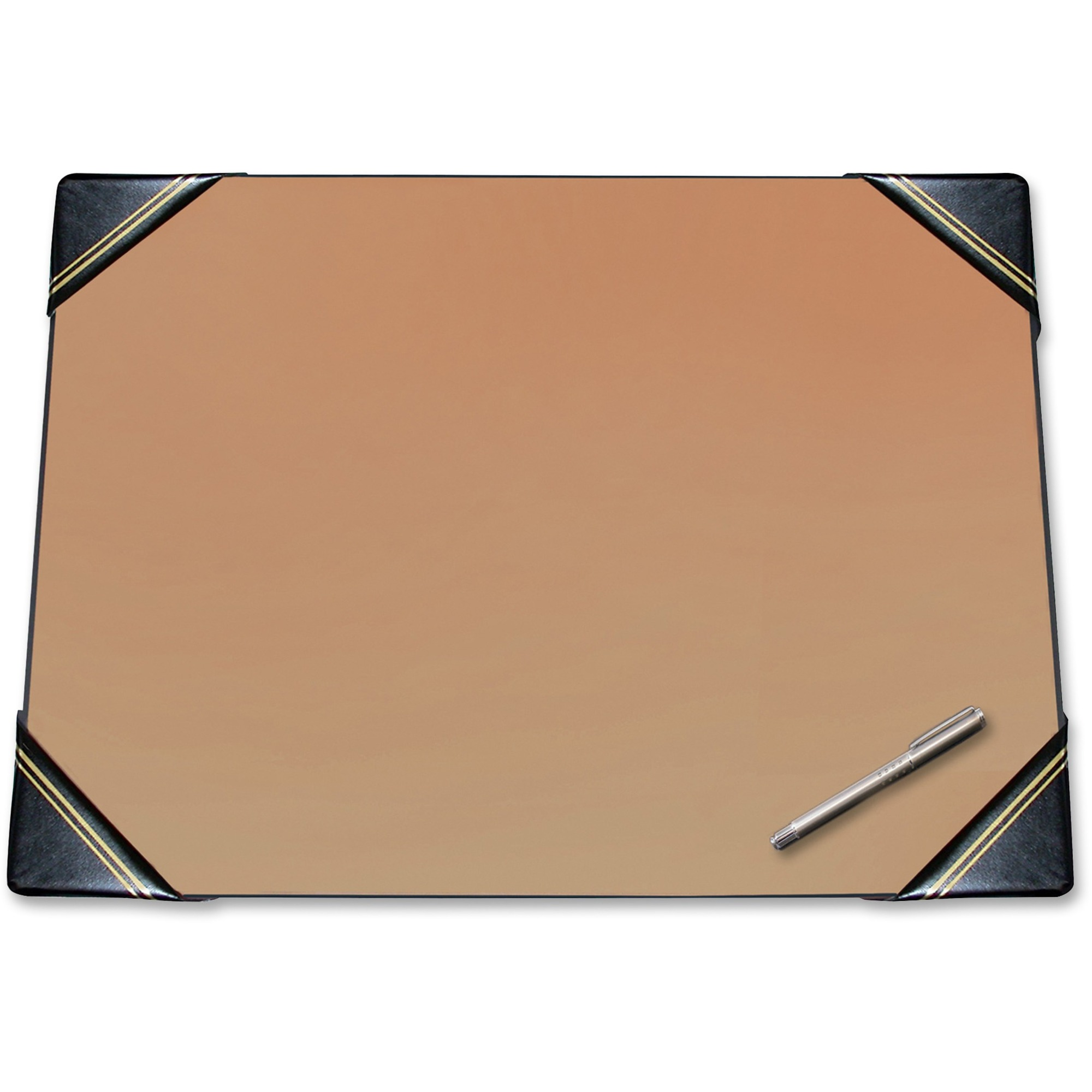 Classic Padded Corner Blotter Desk Pad Black 19 X24 Each