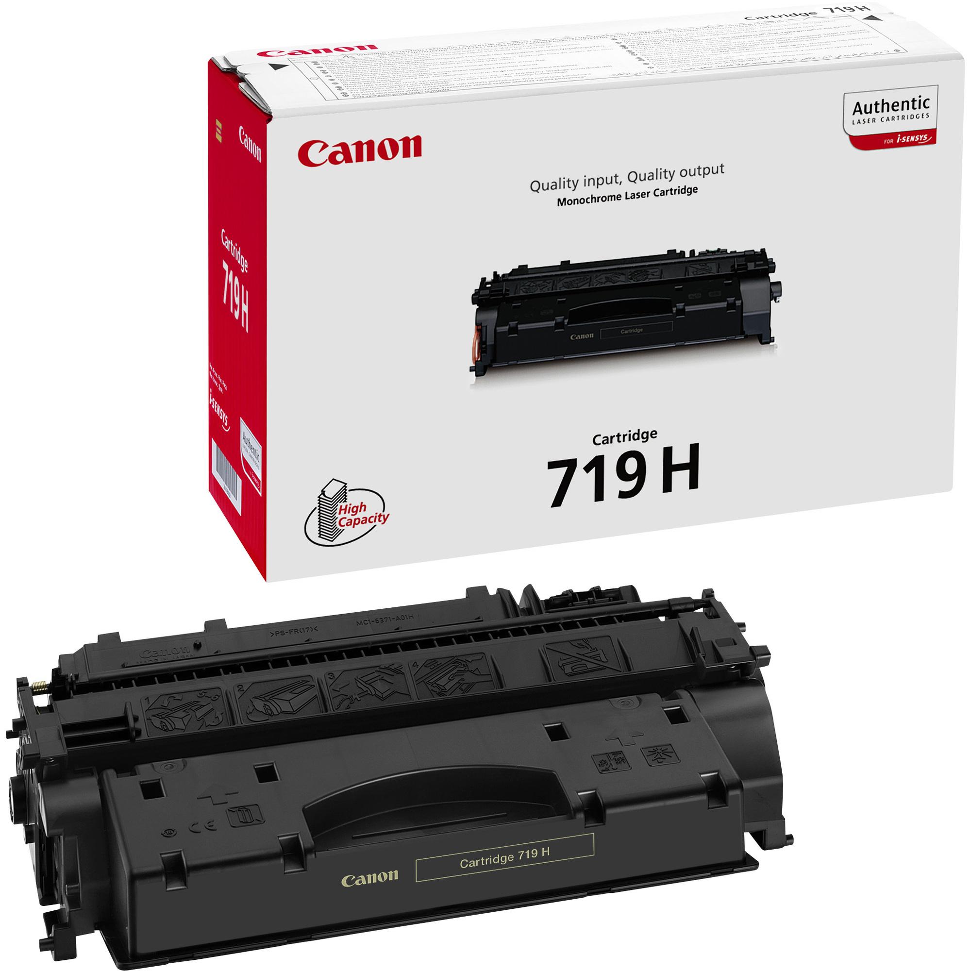 Canon 719H Toner Cartridge - Black
