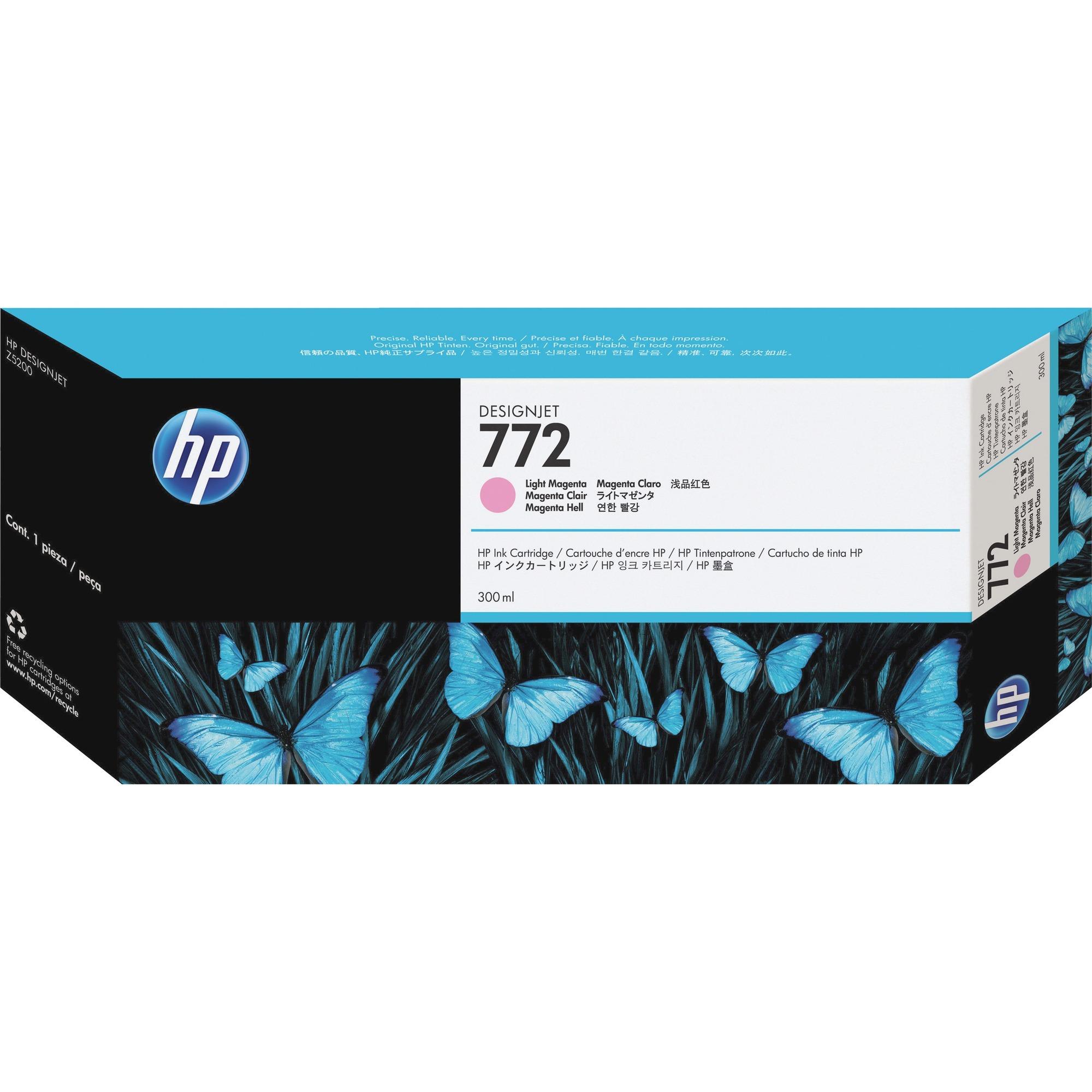 HP No. 772 Ink Cartridge - Light Magenta
