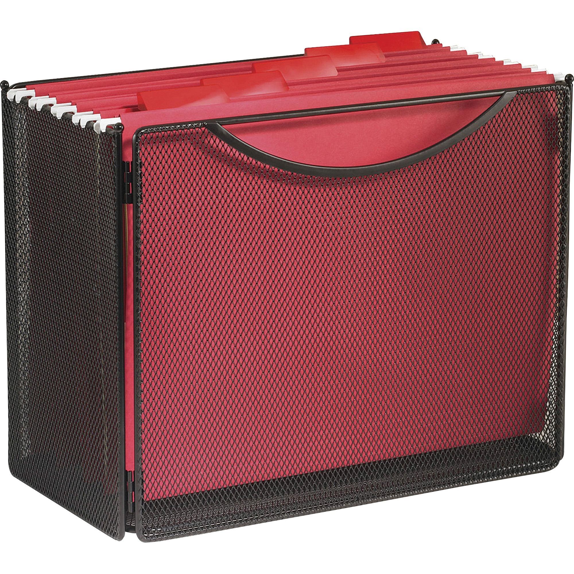 Safco Onyx Steel Mesh Desktop File Box 10 Height X 12 5 Width