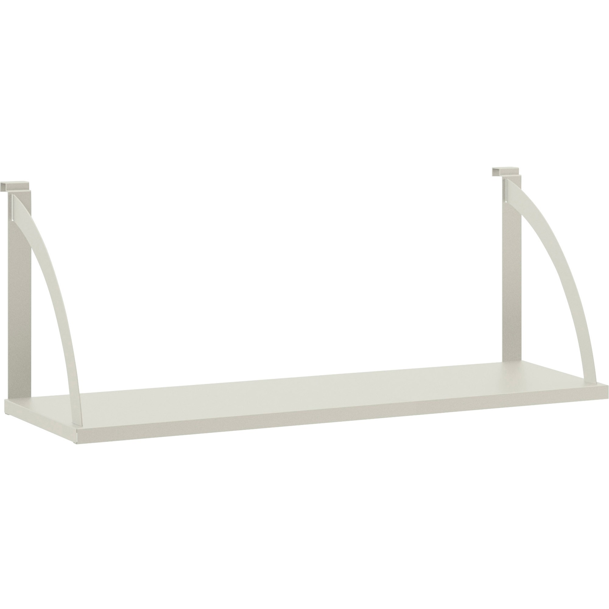 office cubicle hanging shelves. basyx by hon partition mounted steel hang-on shelve - 36\ office cubicle hanging shelves