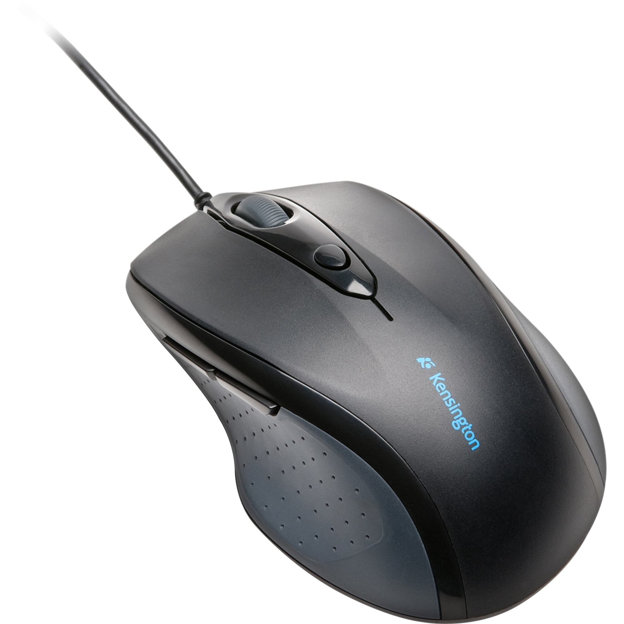 2ae88f76524 Kensington Pro-Fit Full-size Wired Mouse - Optical - Cable - Black - Retail  - USB - 2400 dpi - Scroll Wheel - Right-handed Only