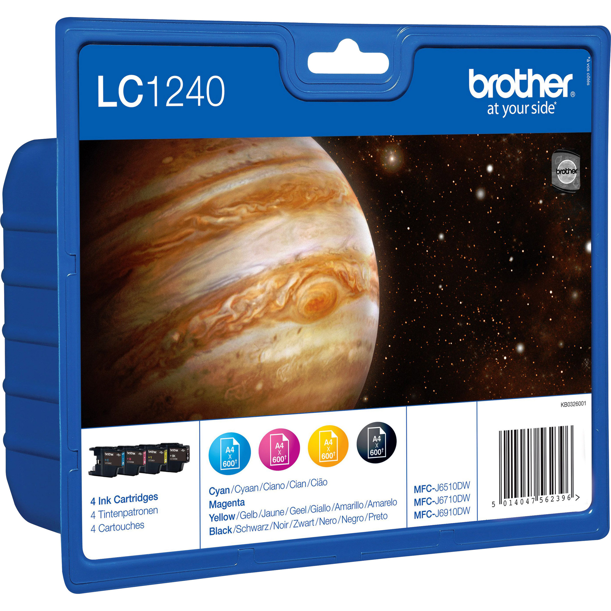Brother LC1240VALBP Ink Cartridge