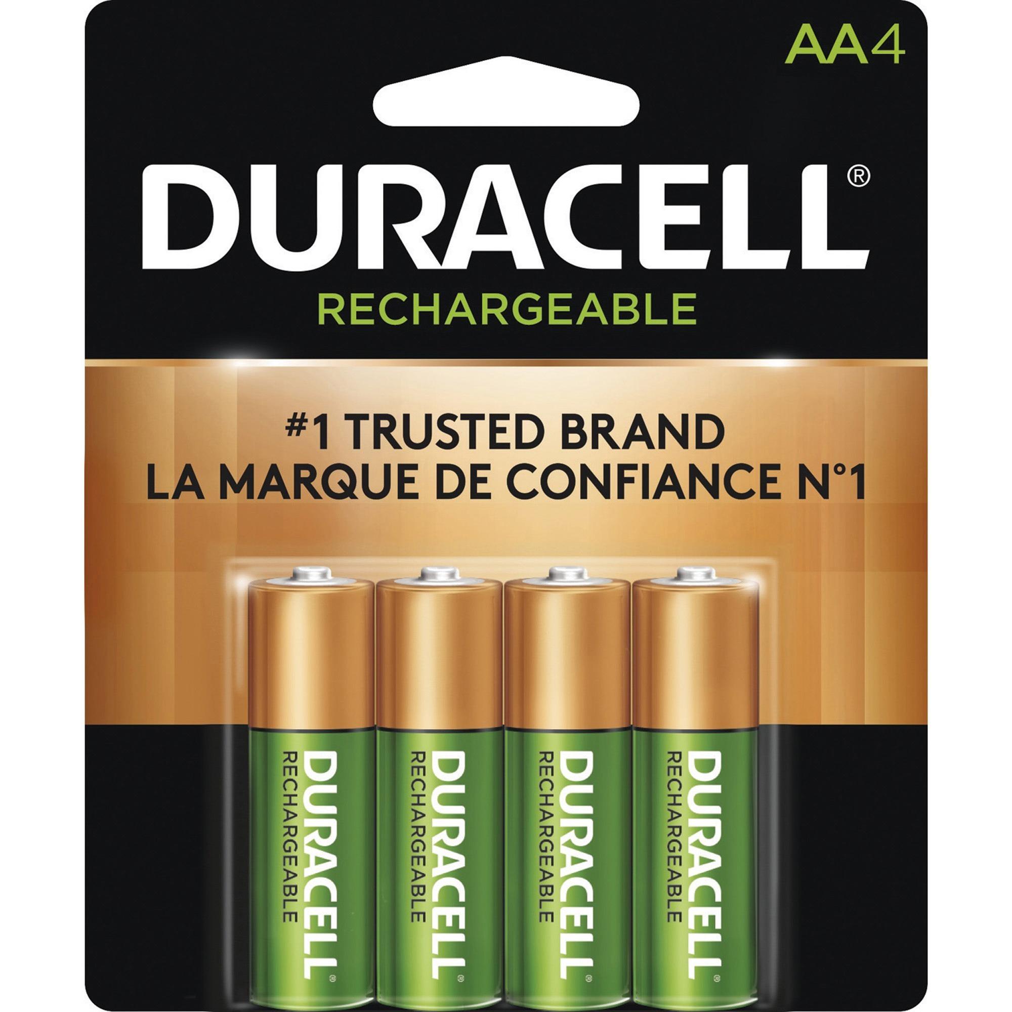 Duracell Dx1500 General Purpose Battery 2000 Mah Aa Nickel Metal Hydride Nimh 1 2 V Dc 4 Pack