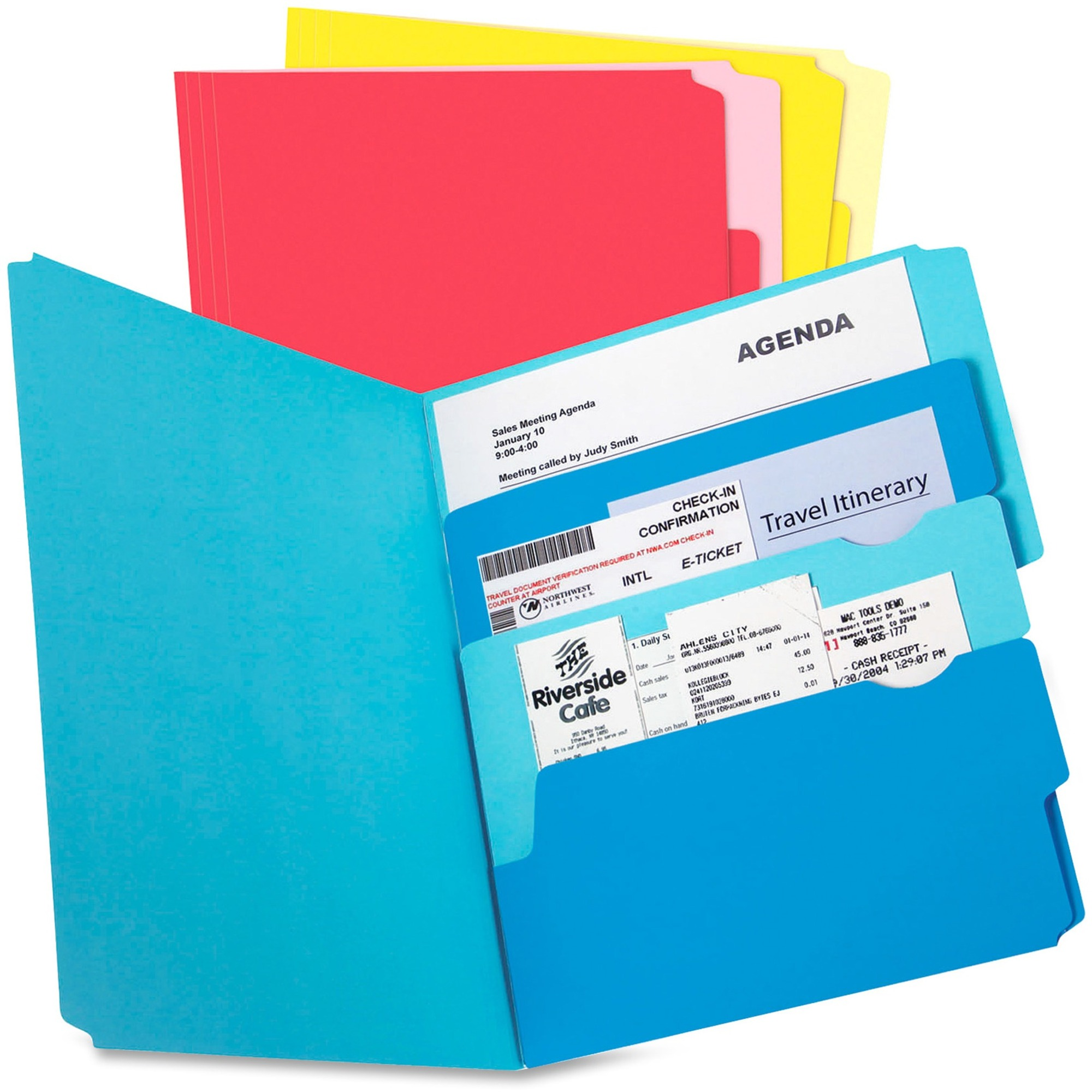 Pendaflex Divide It Up Multi Section File Folder Madill The