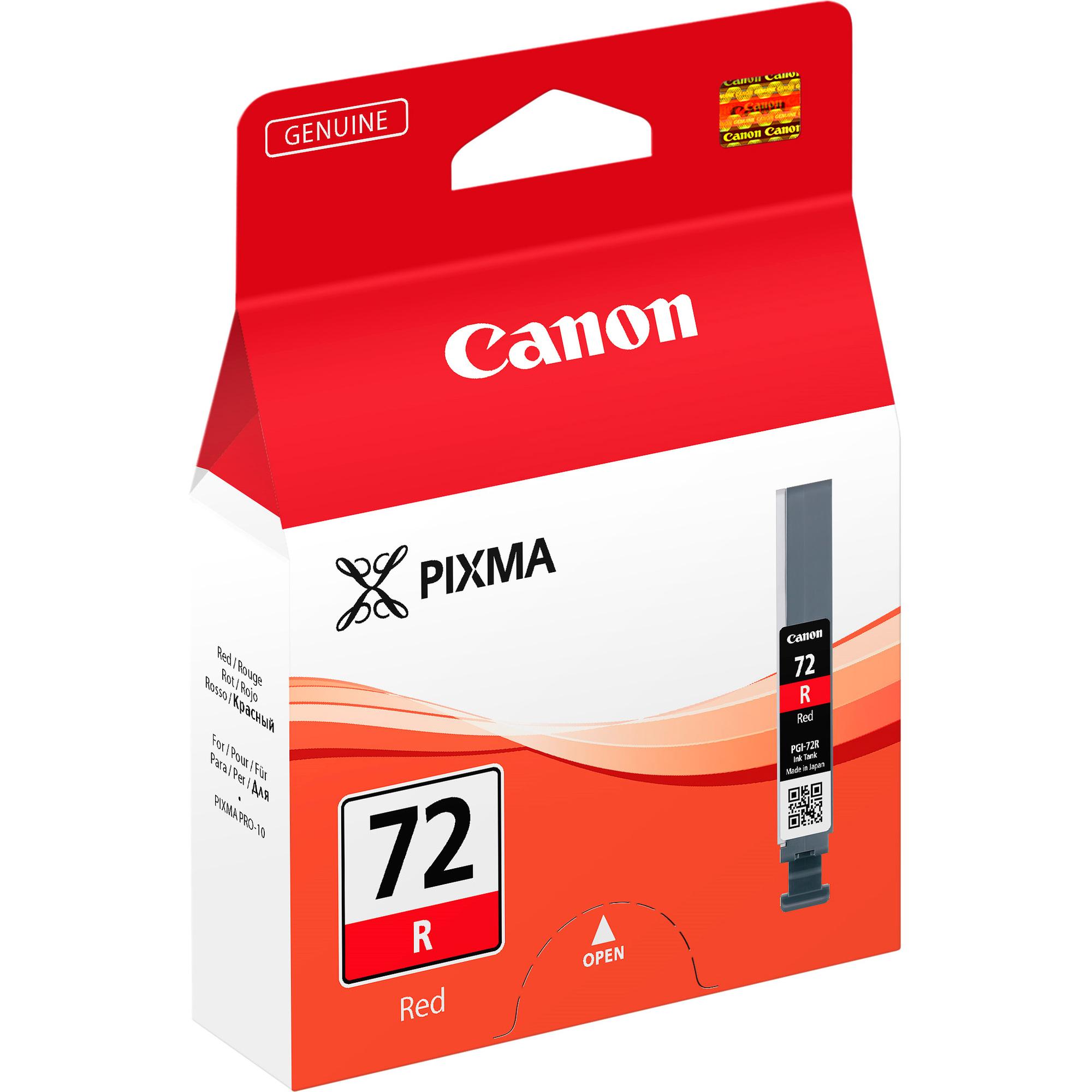 Canon LUCIA PGI-72R Ink Cartridge - Red