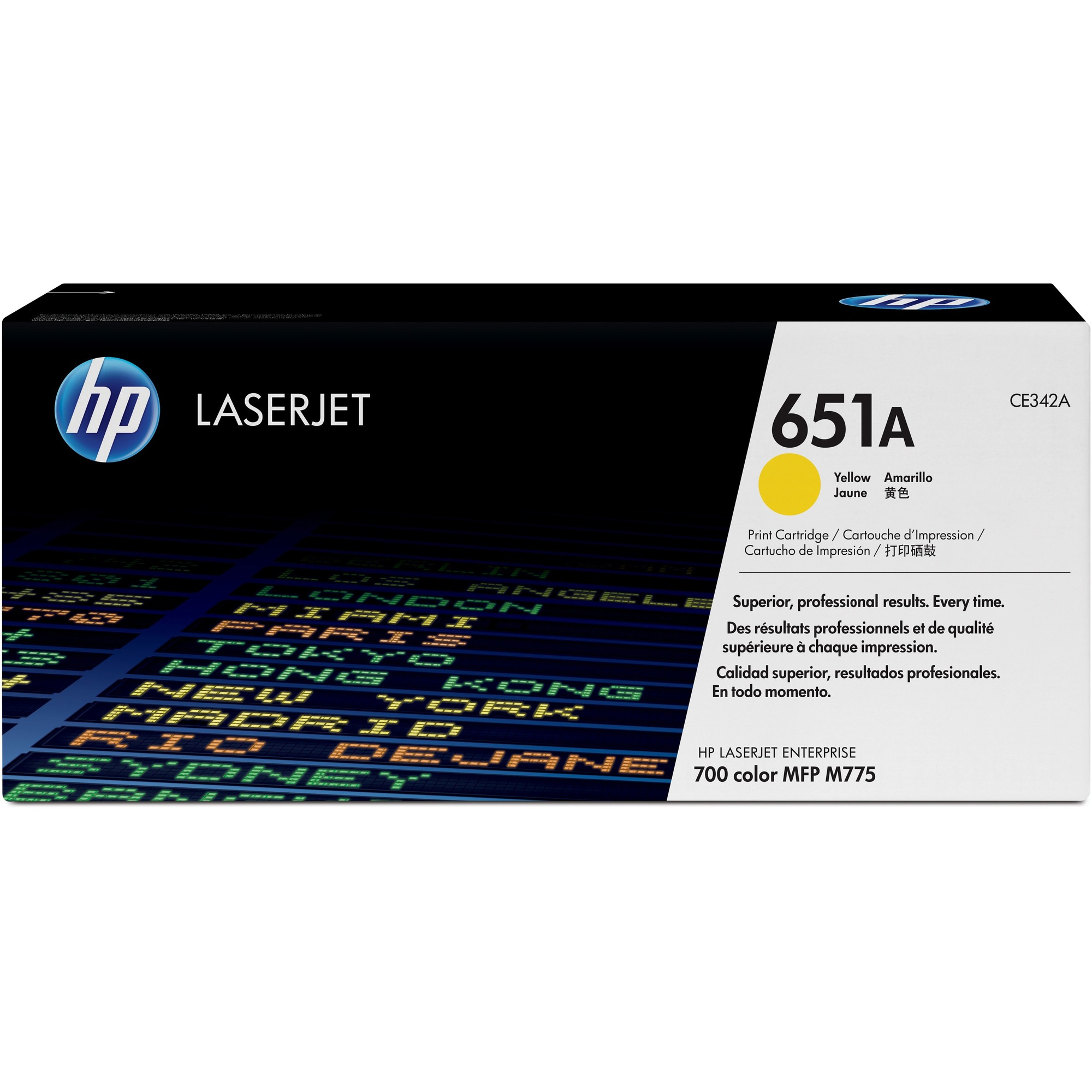 HP 651A Toner Cartridge - Yellow