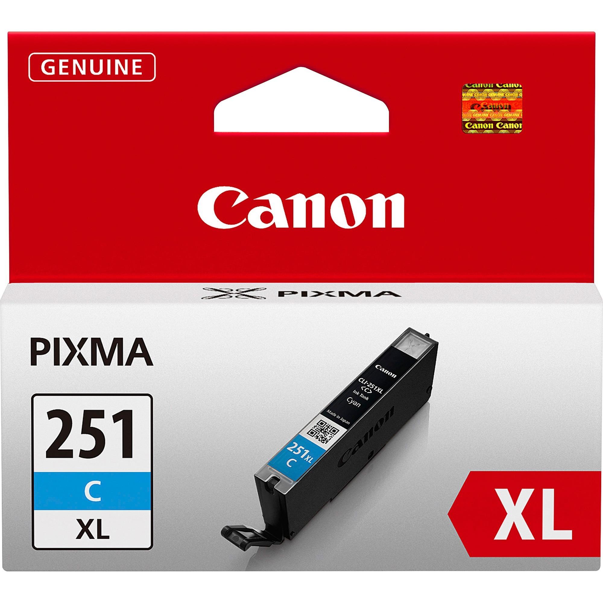 Product CNMCLI251XLC Canon CLI251XLC Original Ink ...