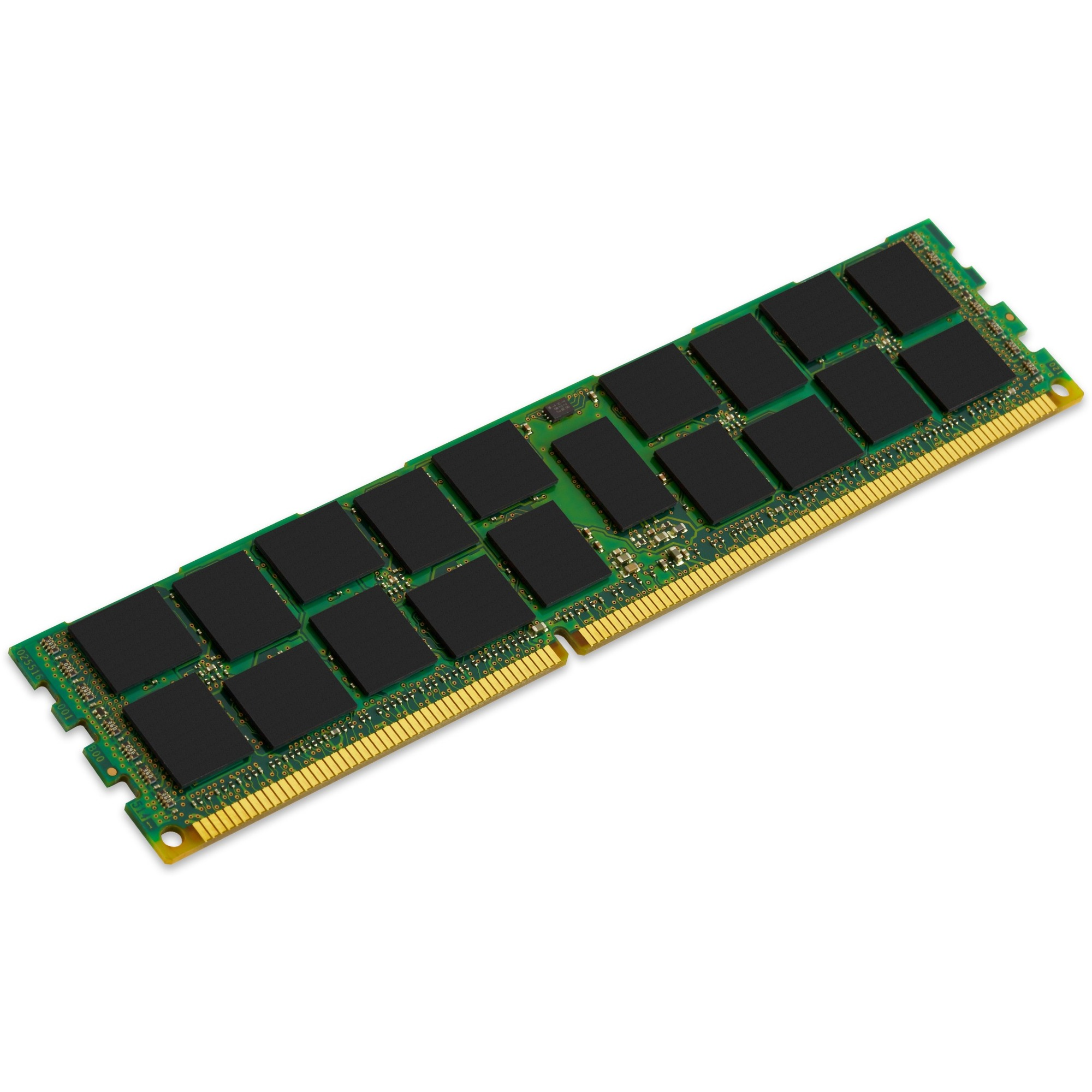 Kingston RAM Module - 16 GB 1 x 16 GB - DDR3 SDRAM - 1600 MHz DDR3-1600/PC3-12800 - 1.50 V - ECC - Registered - CL11 - 240-pin - DIMM