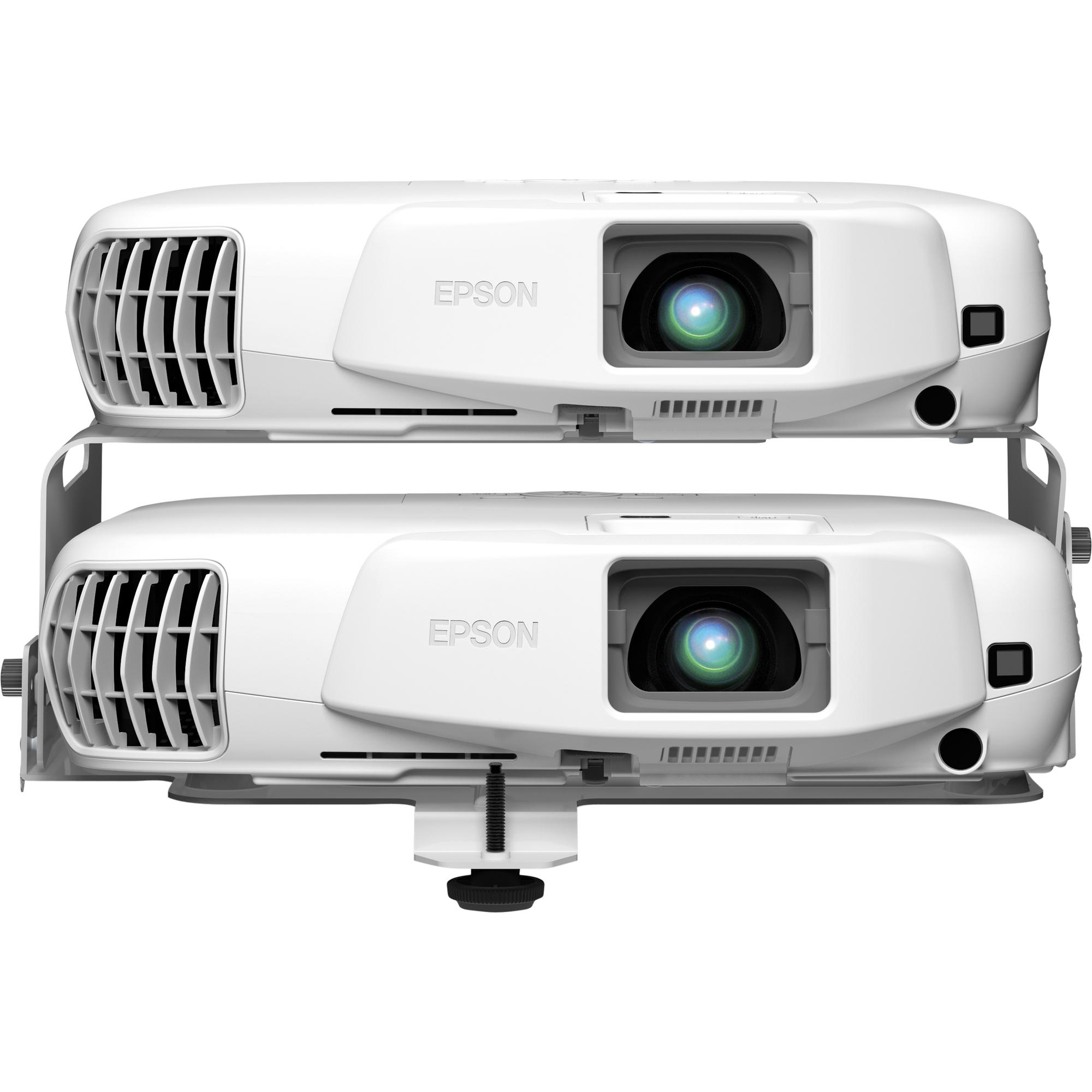 Epson EB-W16SK 3D Ready LCD Projector - 720p - HDTV - 16:10