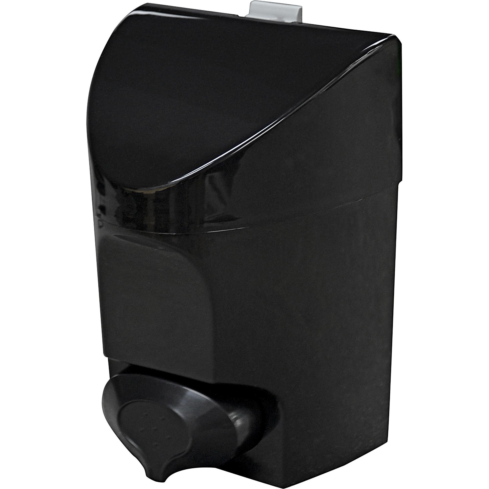 Dura Plus Push Button Soap Dispenser   Manual   887.21 ML Capacity   Black    1Each