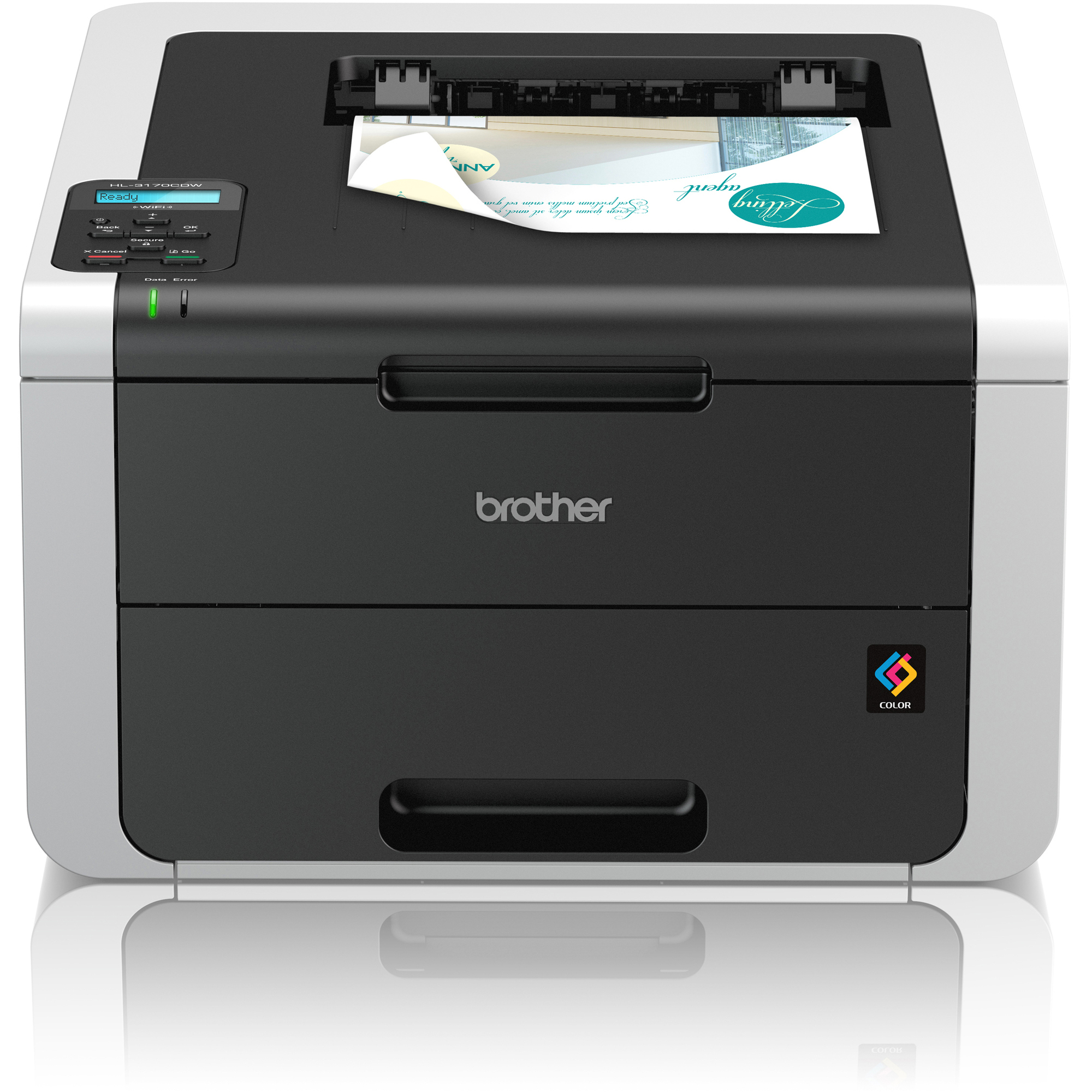 Brother HL3170CDW LED Printer - Colour - 2400 x 600 dpi Print - Plain Paper Print - Desktop