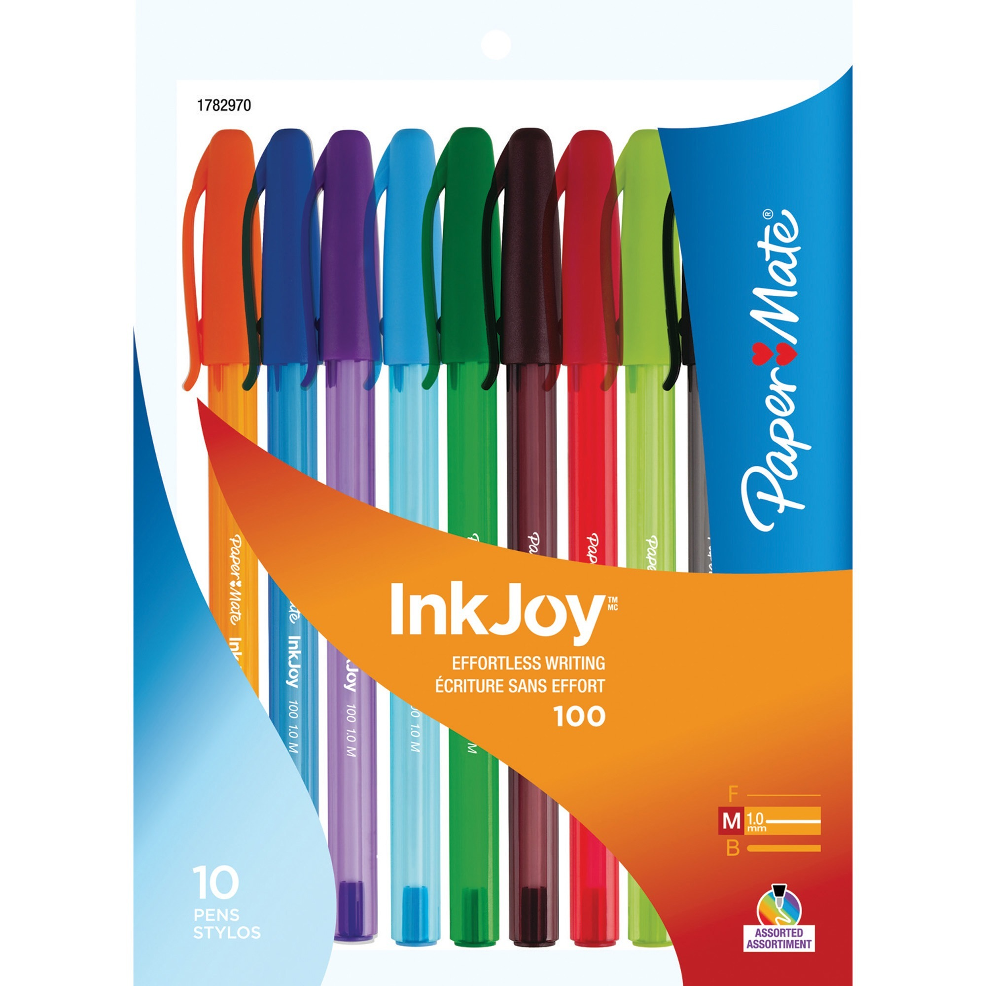 ... Paper Mate Flair Felt Tip Pen - Medium Point - Purple - PAPER MATE  1806704. ‹ ›