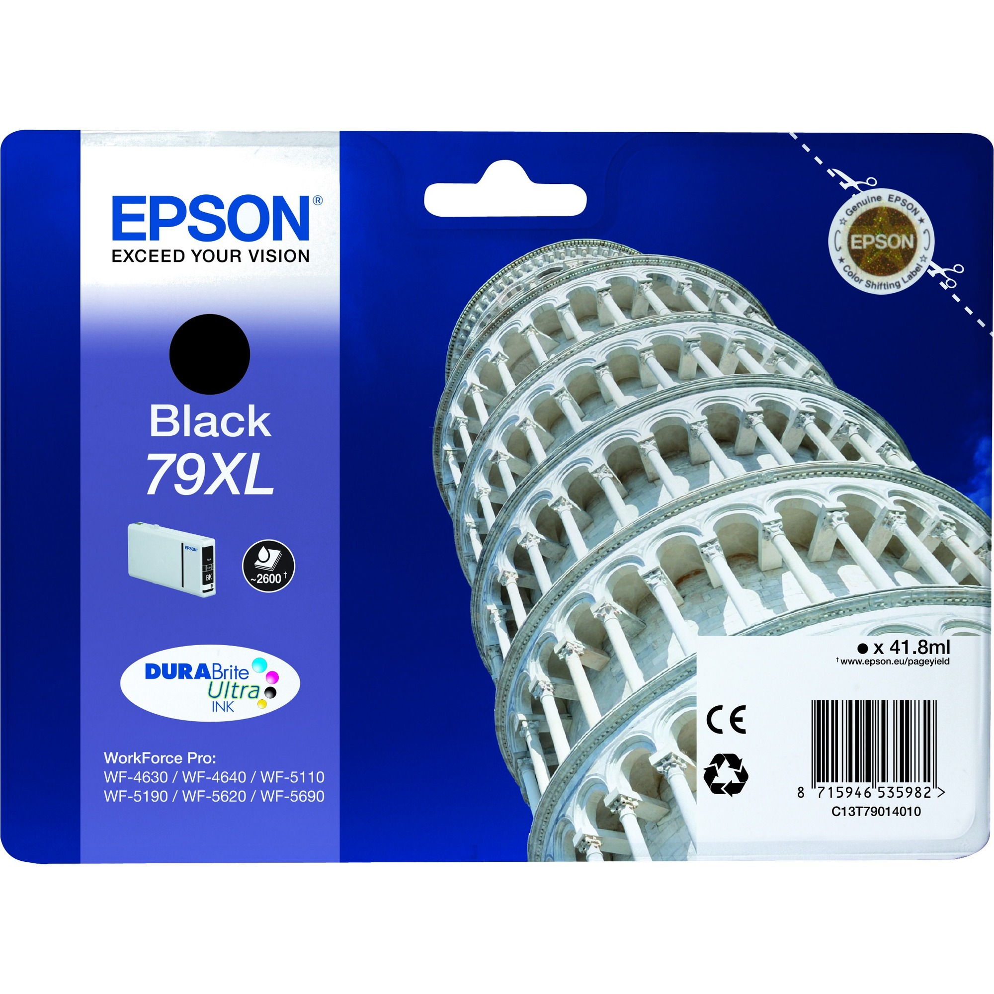 Epson DURABrite 79XL Ink Cartridge - Black