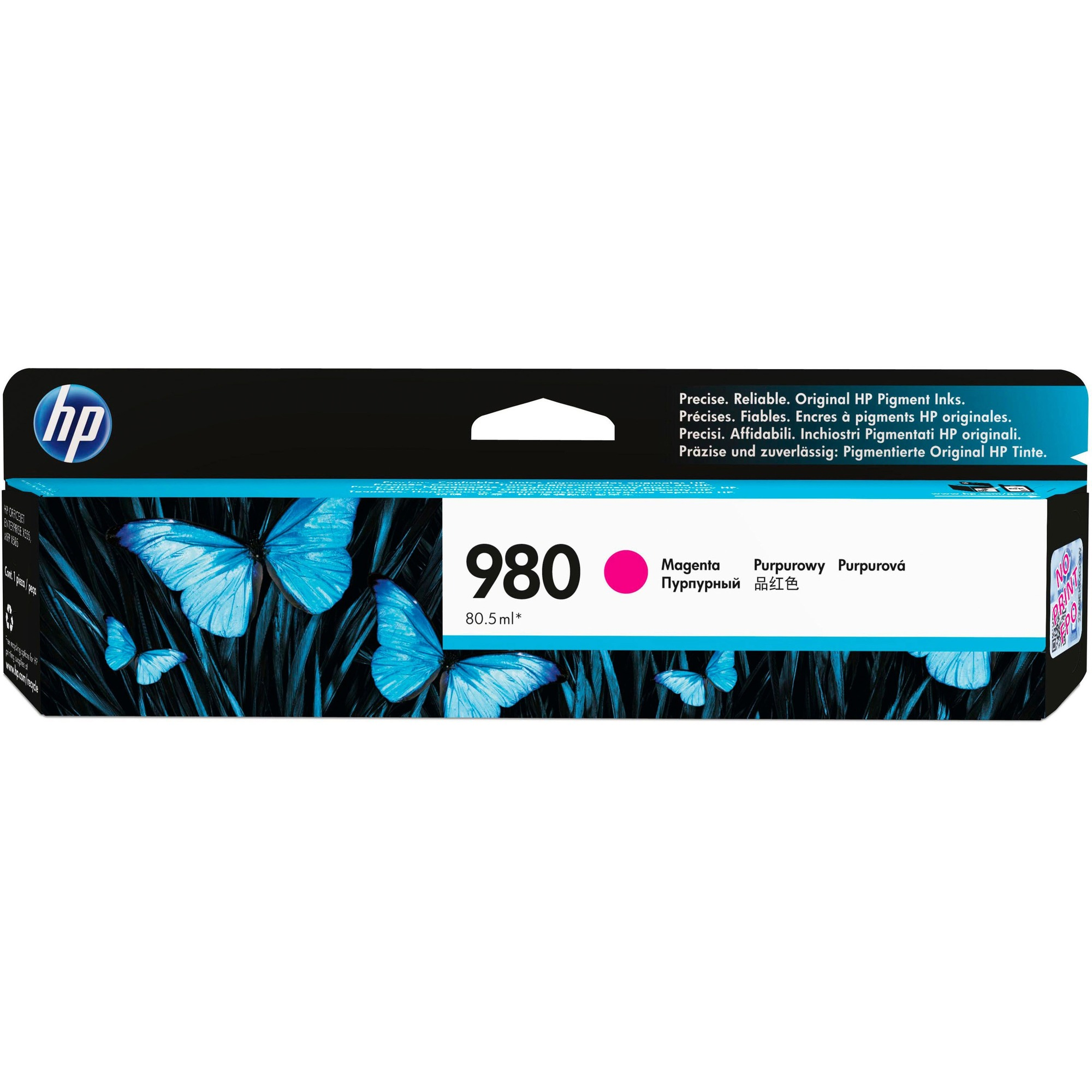 HP 980 Ink Cartridge - Magenta