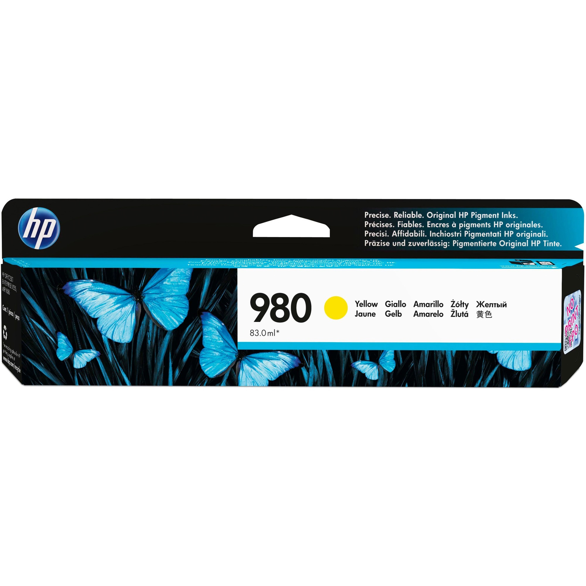 HP 980 Ink Cartridge - Yellow