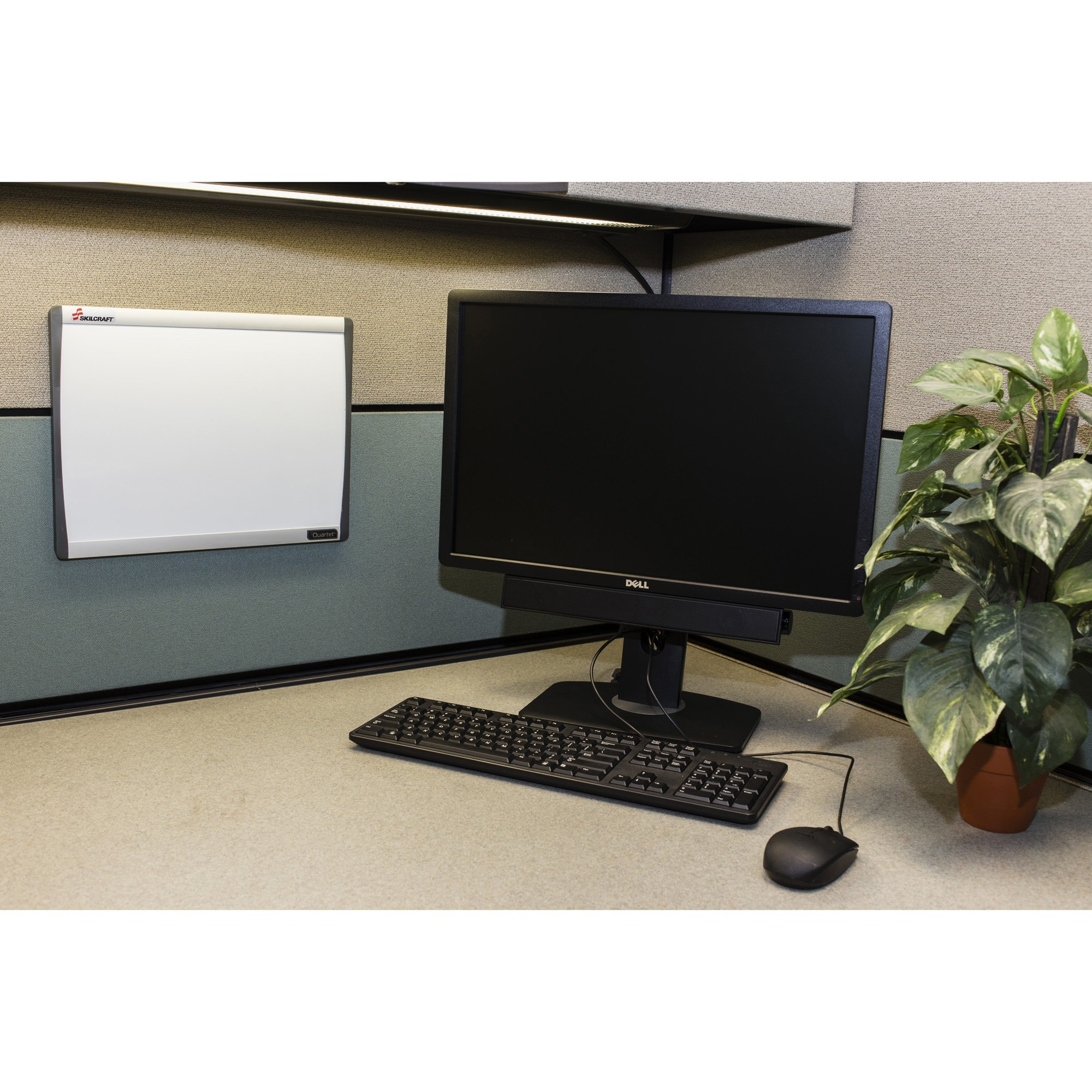 SKILCRAFT Cubicle Magnetic Dry Erase Board - 14