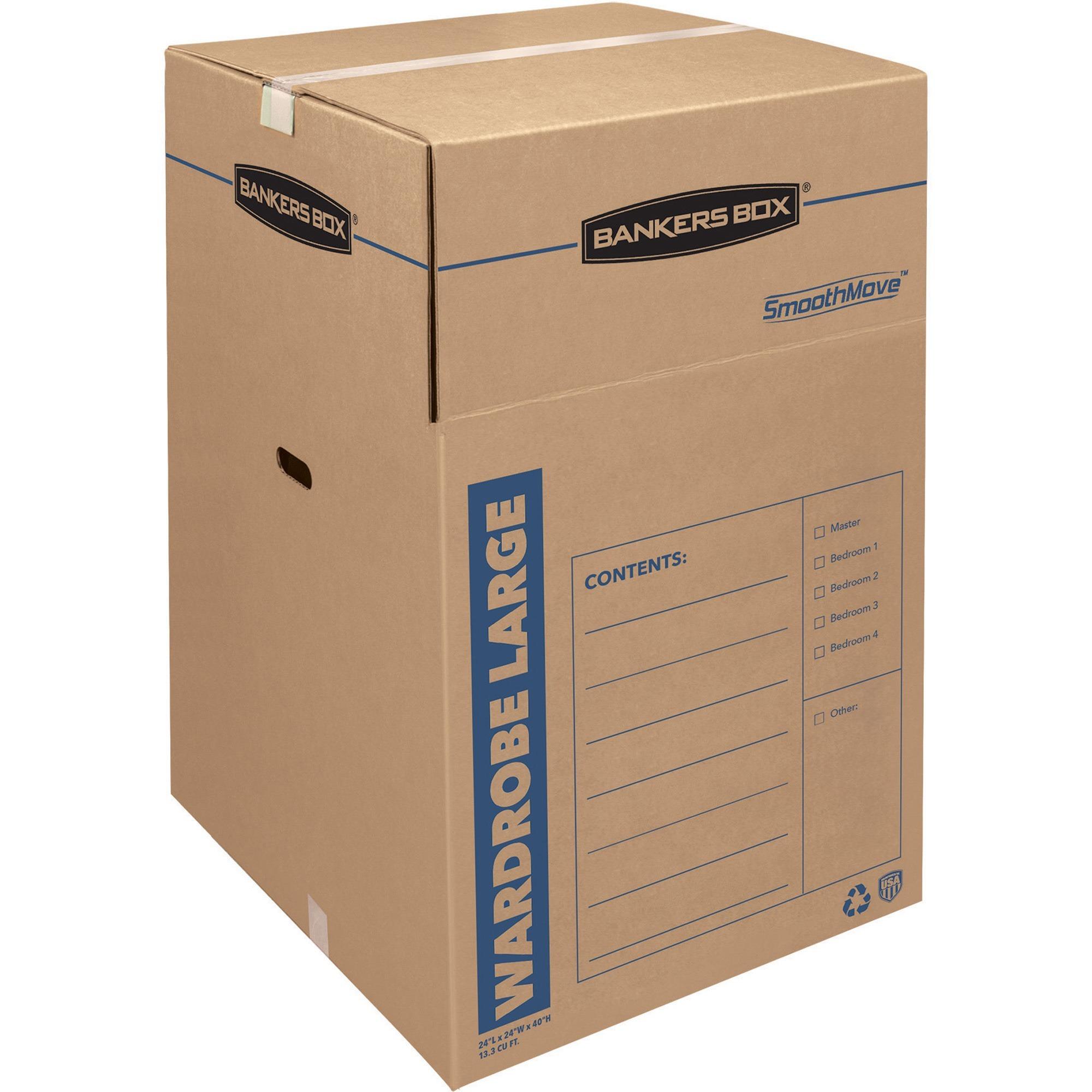 Product FEL Bankers Box SmoothMove™ Wardrobe Box