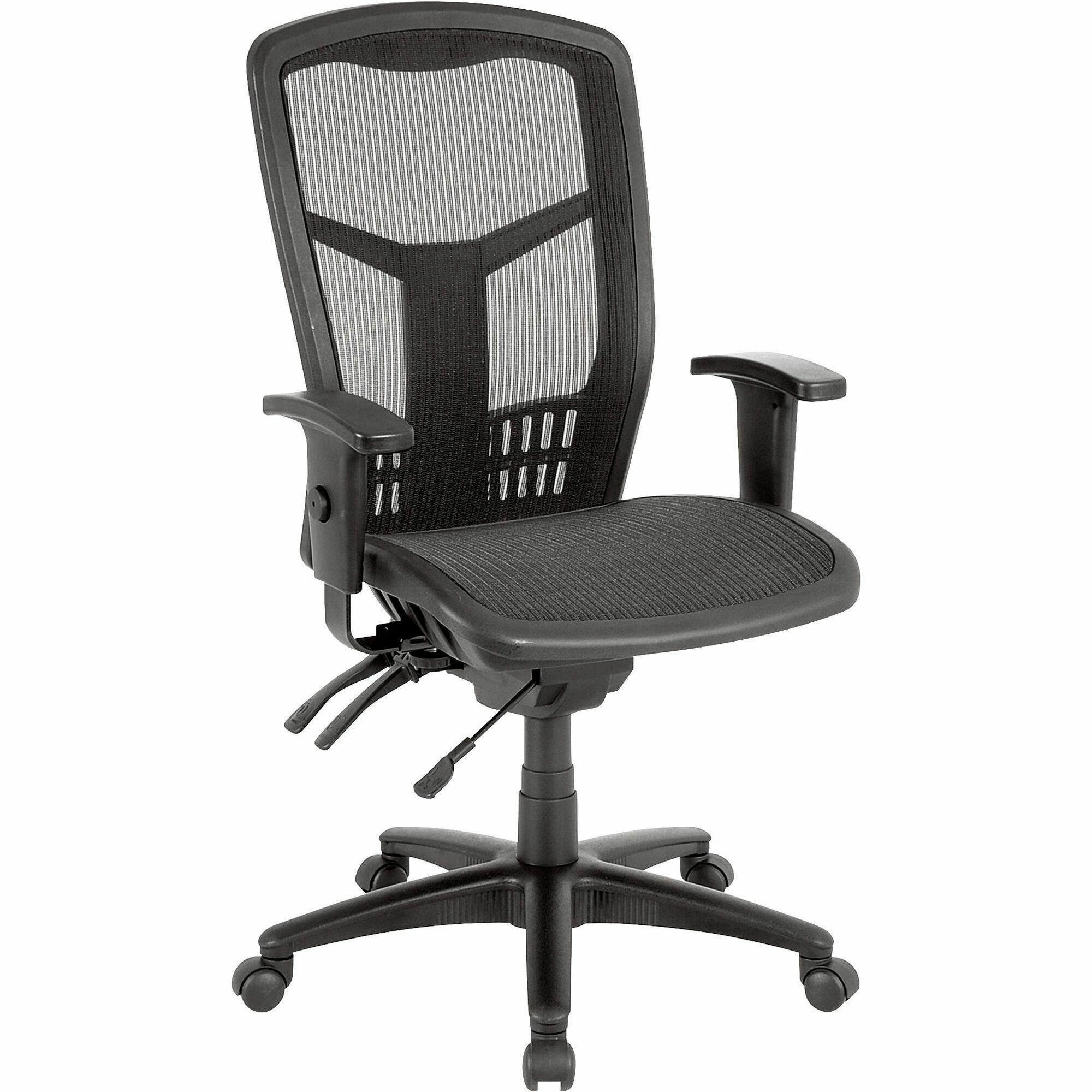 LLR Lorell Executive Mesh High Back Chair
