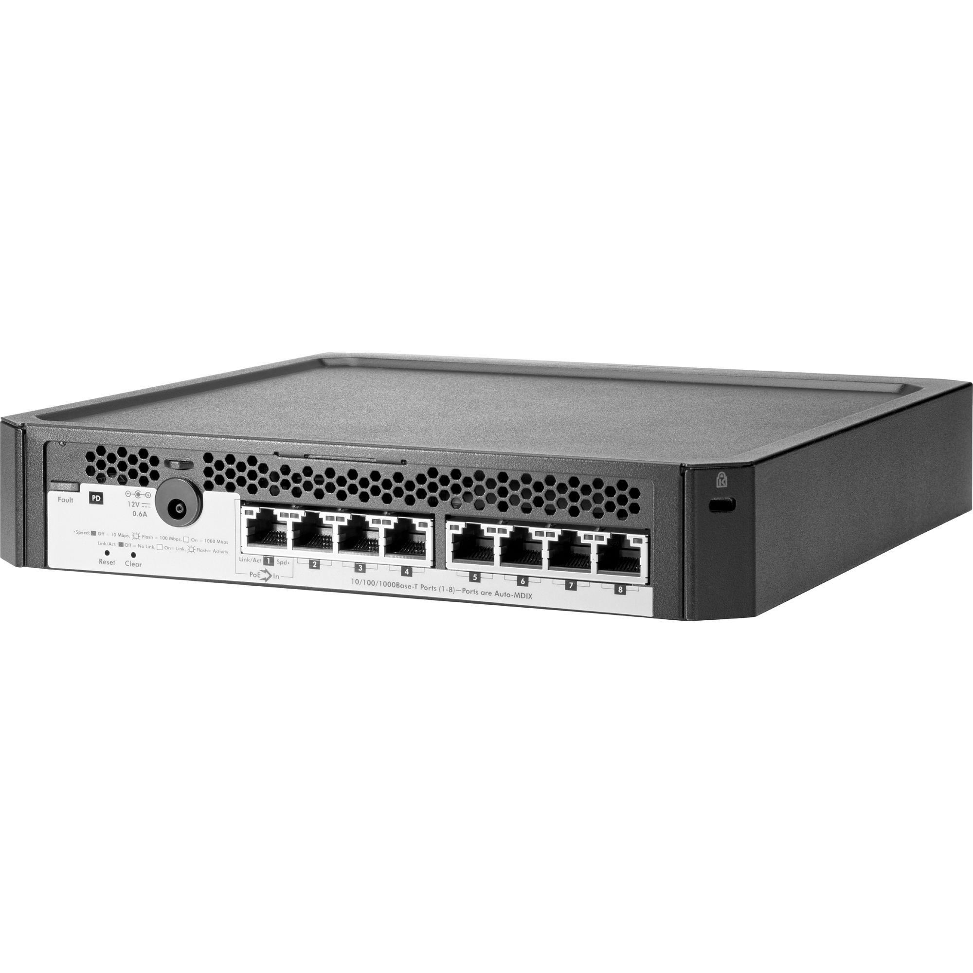HP PS1810-8G 8 Ports Manageable Ethernet Switch