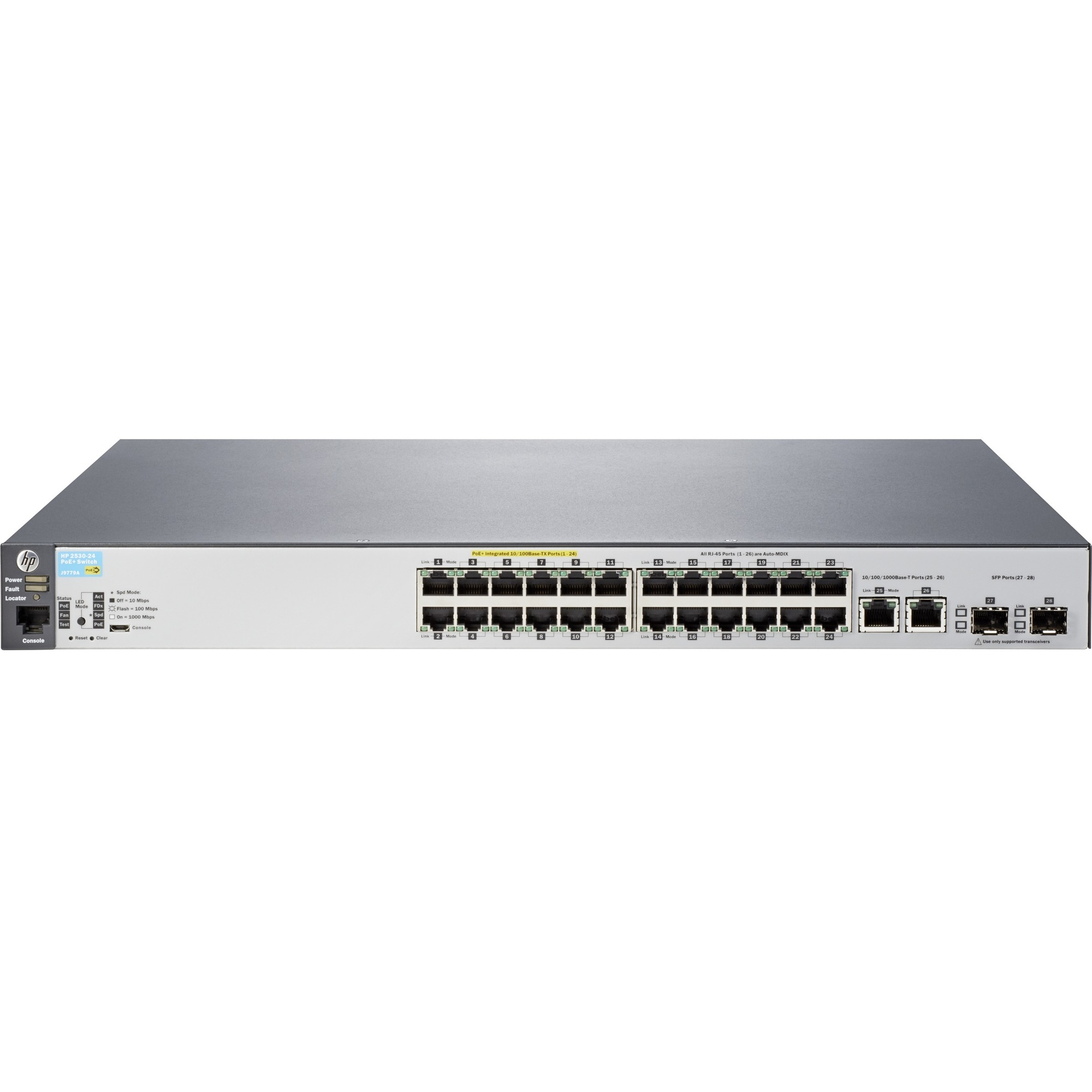 HP 2530-24-PoEplus 24 Ports Manageable Ethernet Switch