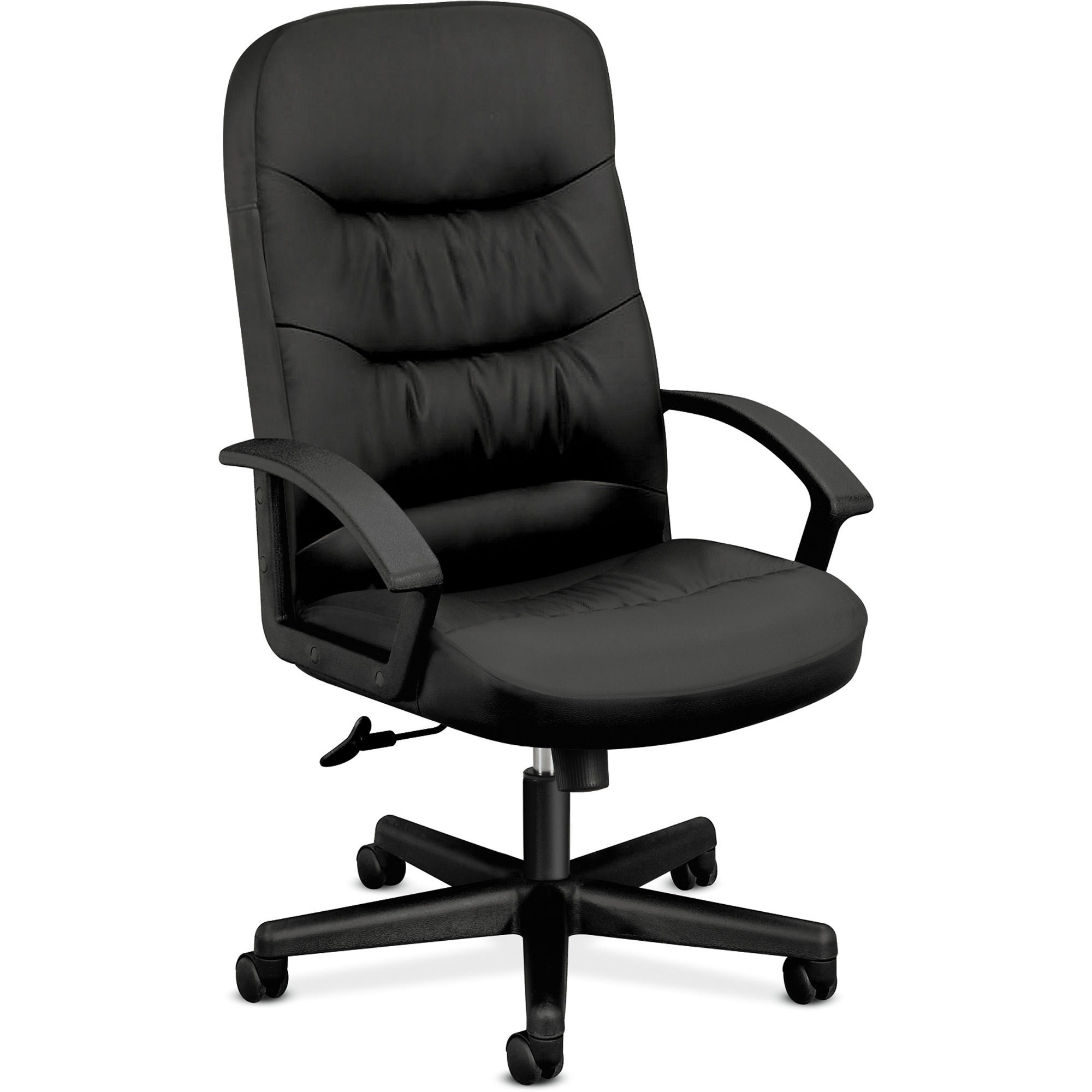 basyx by hon hvl641 executive high back chair bsxvl641sb11