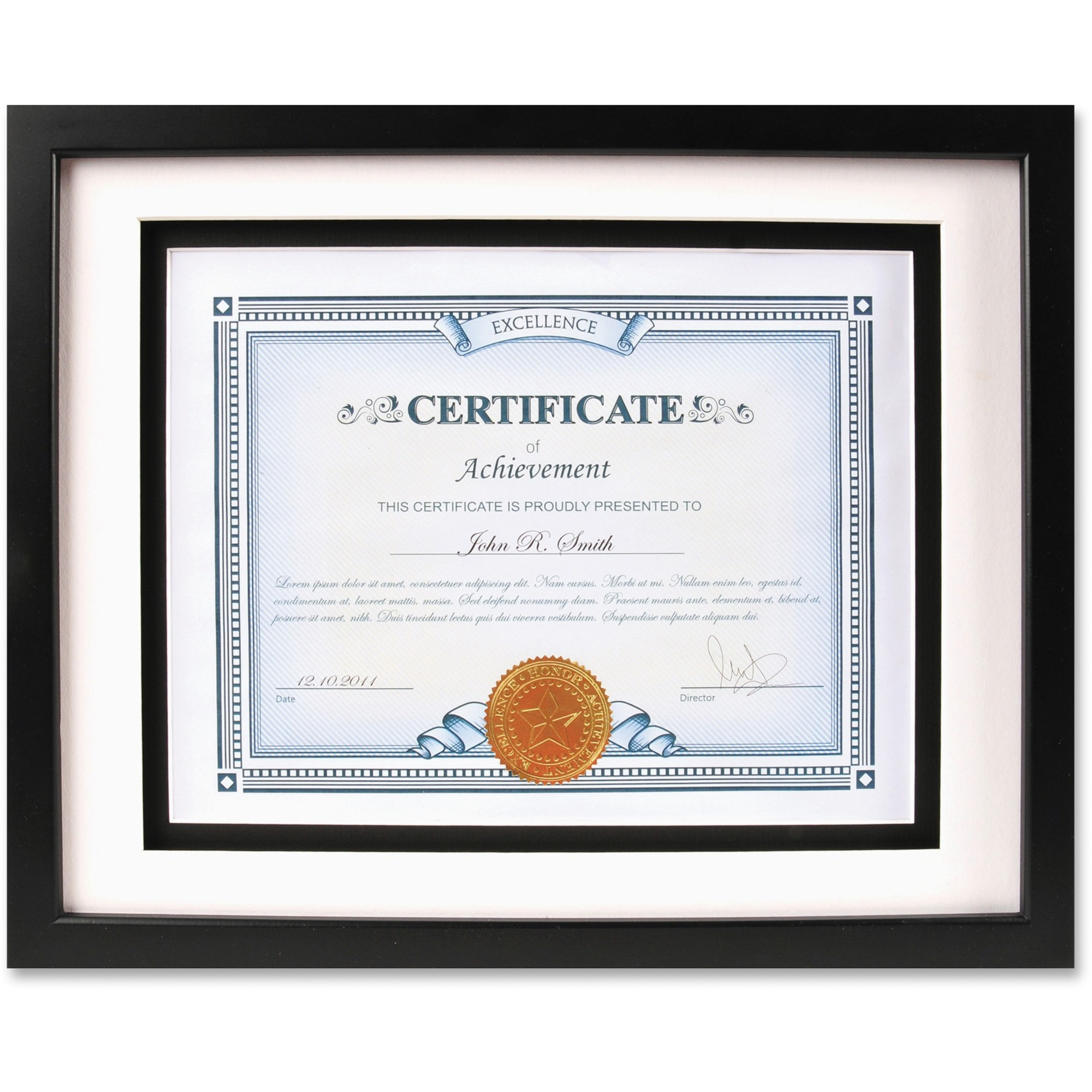 certificate frame wall vertical glass frames wood horizontal dax airfloat hardboard mountable solid manufacturing burns office rs inc company madill