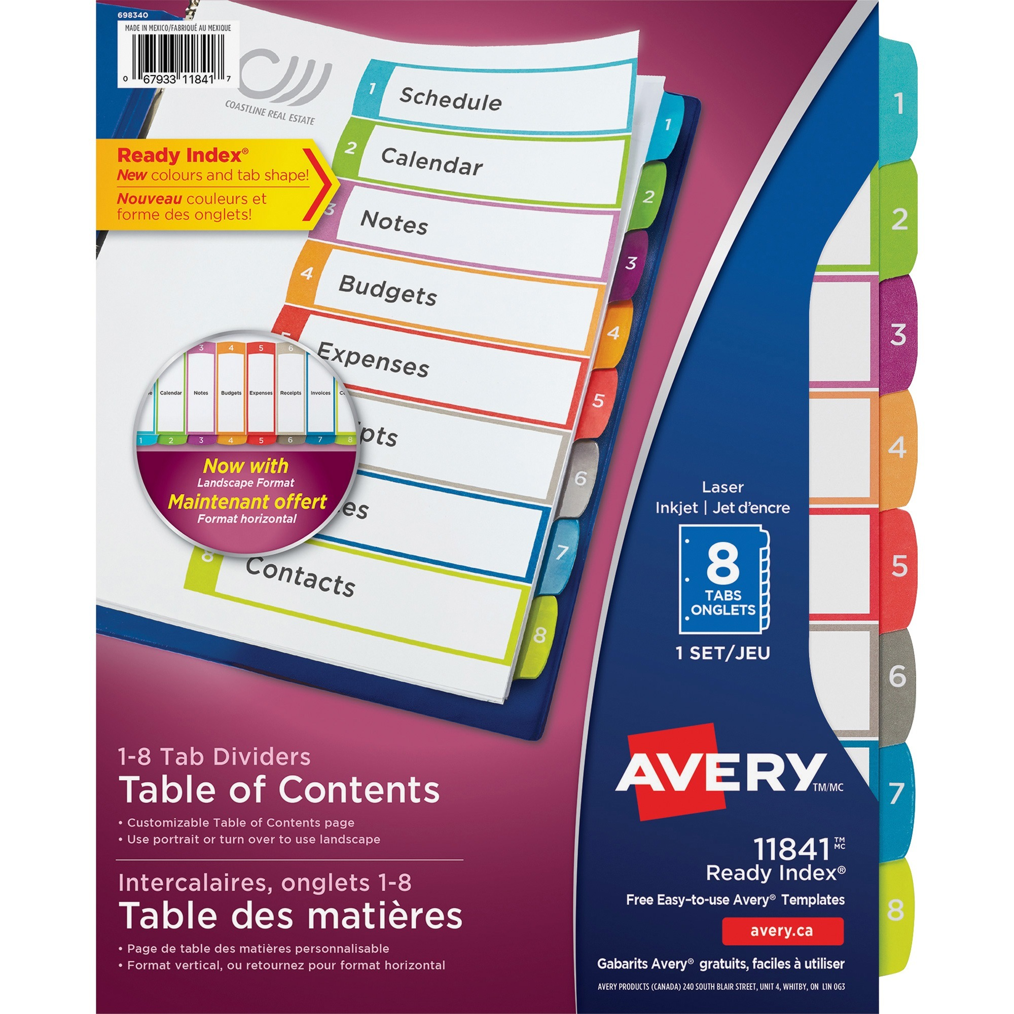 Product ave11841 avery ready index customizable table of contents loading zoom saigontimesfo