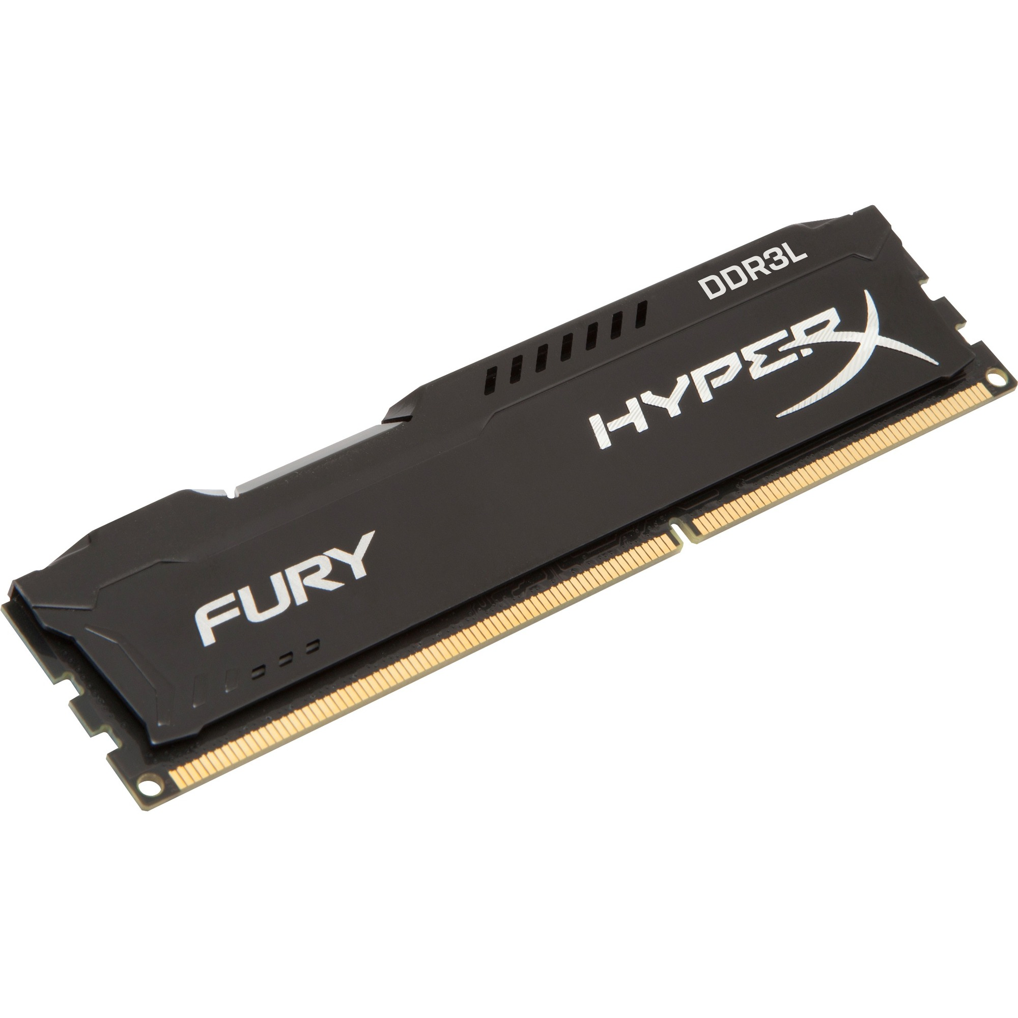 Kingston HyperX Fury RAM Module - 4 GB 1 x 4 GB - DDR3L SDRAM - 1866 MHz - 1.35 V