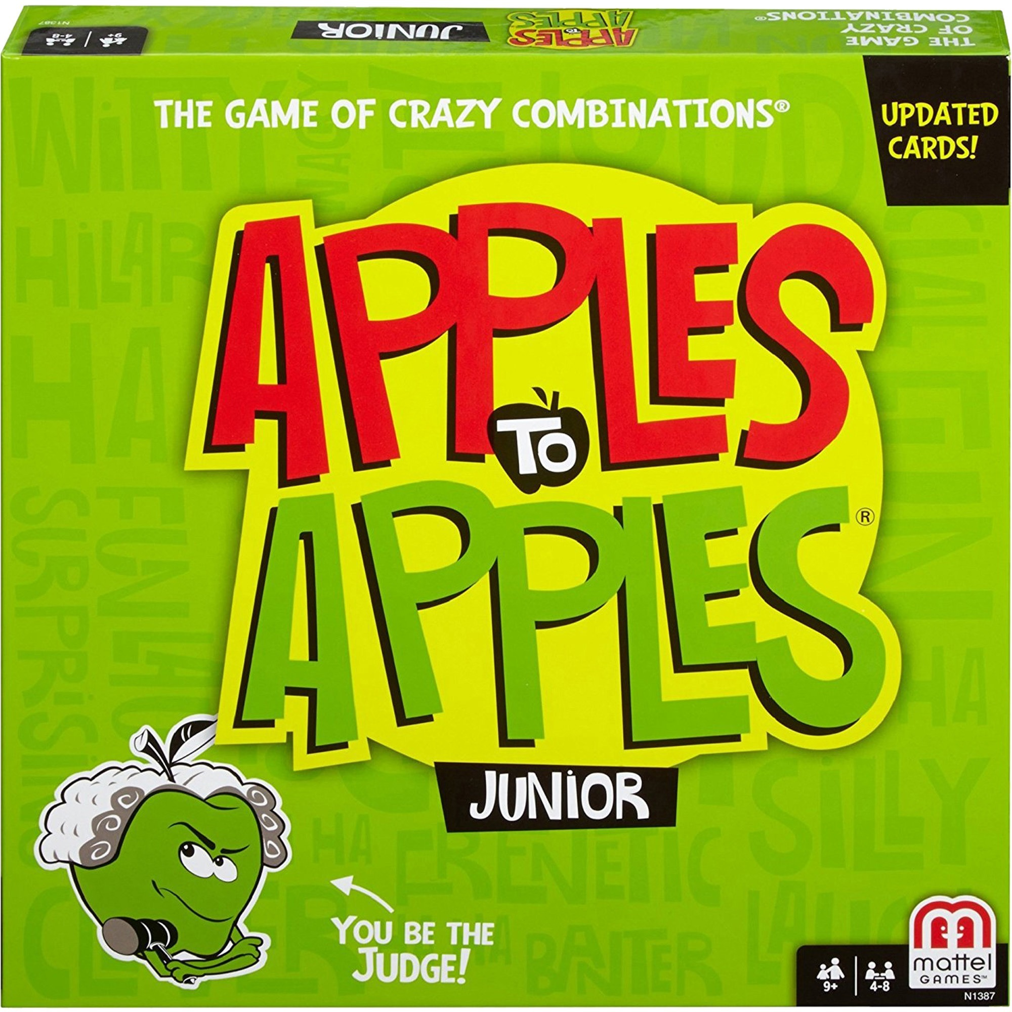Apples to Apples Express Card Game by Mattel