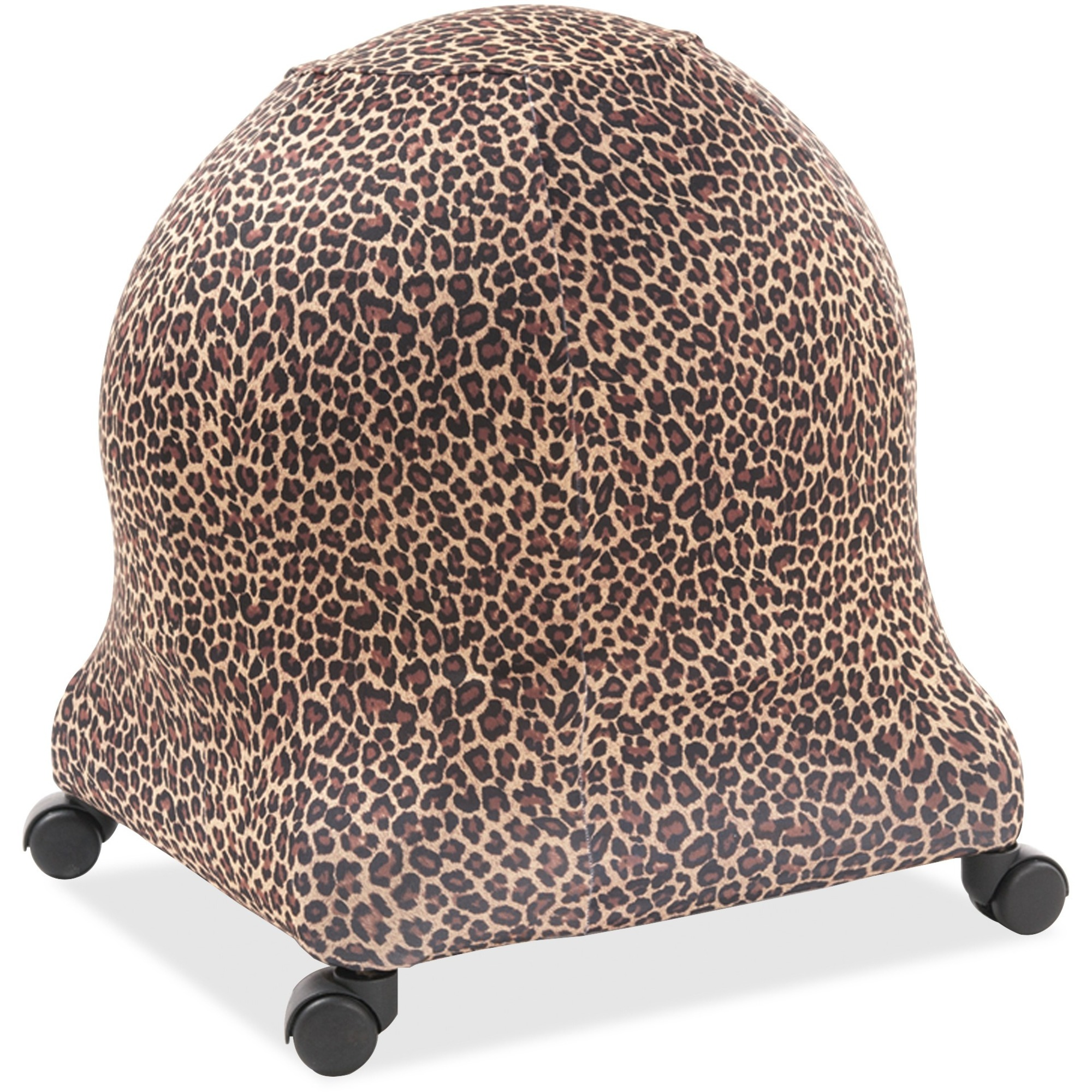 Posture Perfect Solutions Evolution Chair Ball Chair Leopard Cozy Slipcover    Supports Ball Chair   Breathable