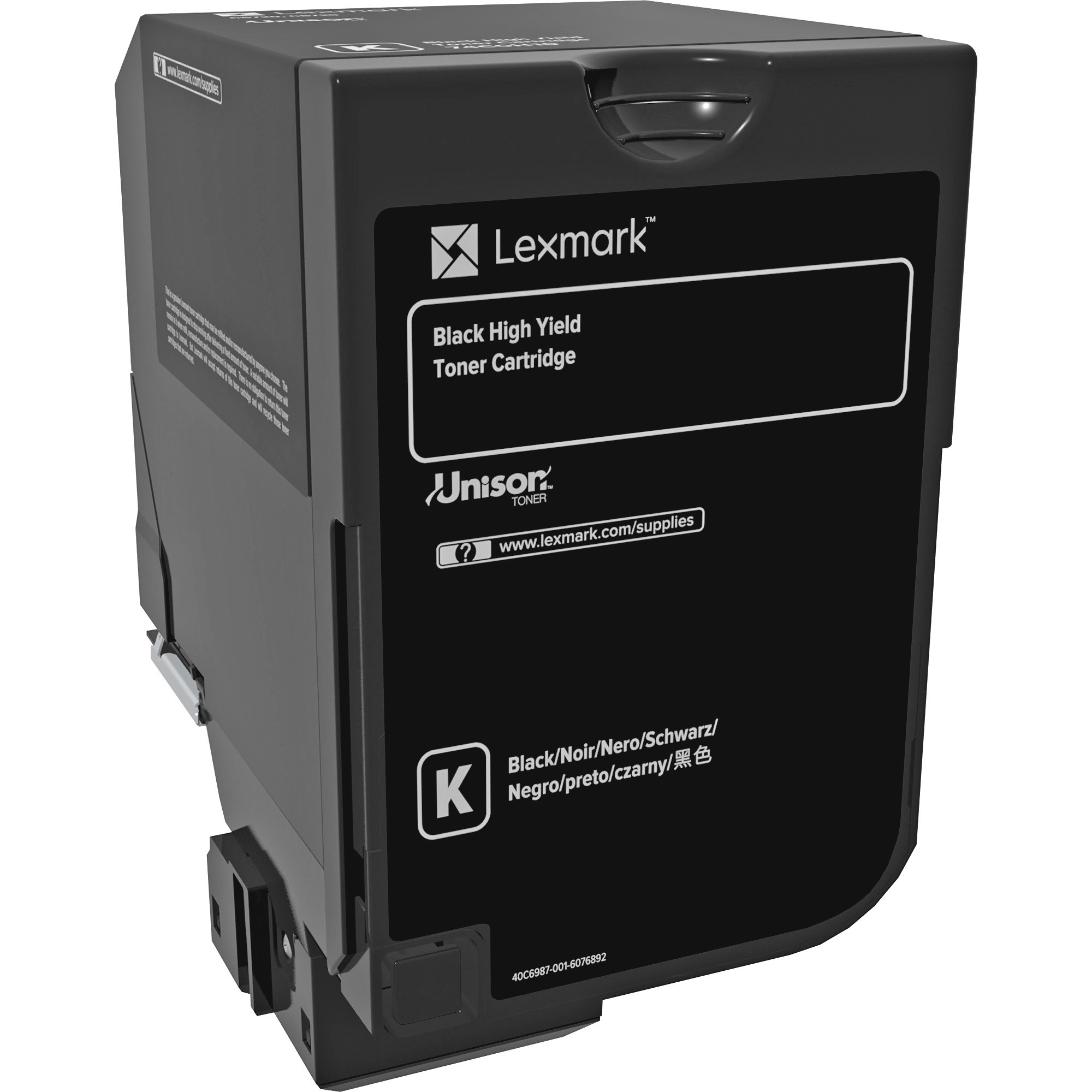 3ca956a54e1e81 Lexmark Original Toner Cartridge - Laser - High Yield - 20000 Pages - Black