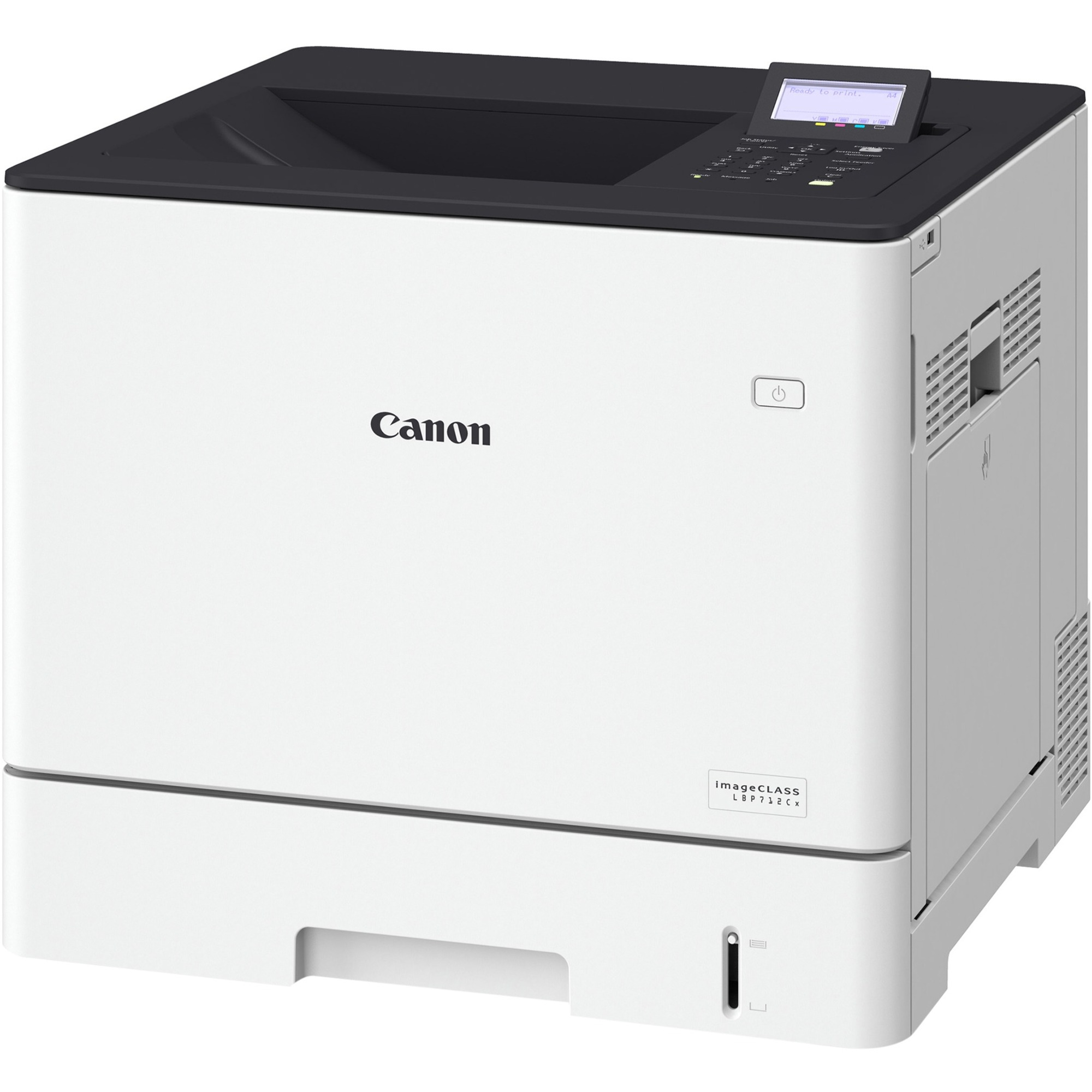 Canon i-SENSYS LBP LBP712Cx Laser Printer - Colour - 9600 x 600 dpi Print - Plain Paper Print - Desktop - 59 ppm Mono / 59 ppm Color Print - A5, Executive, A4, B5, C