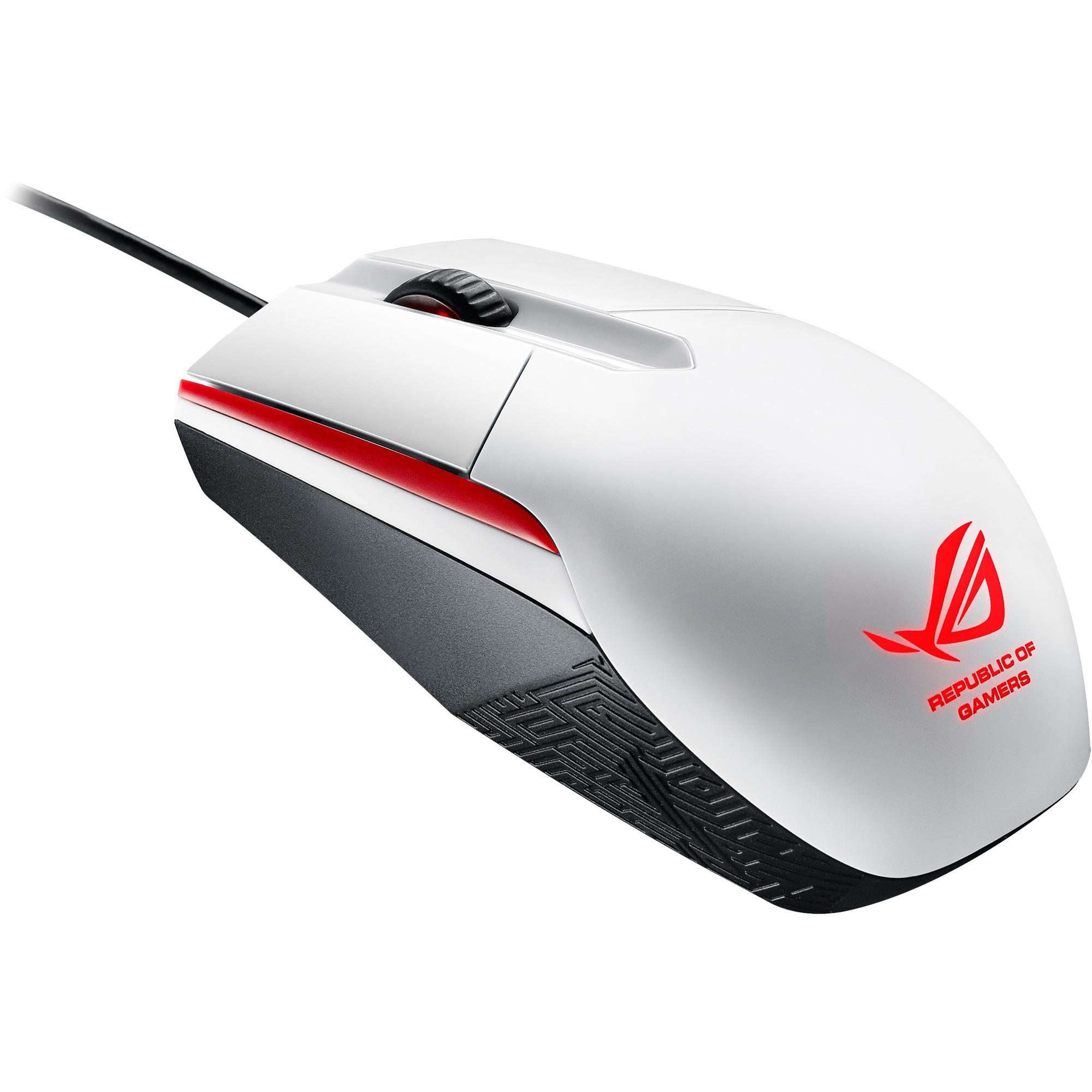 ASUS ROG Sica Mouse - Optical - Cable - White