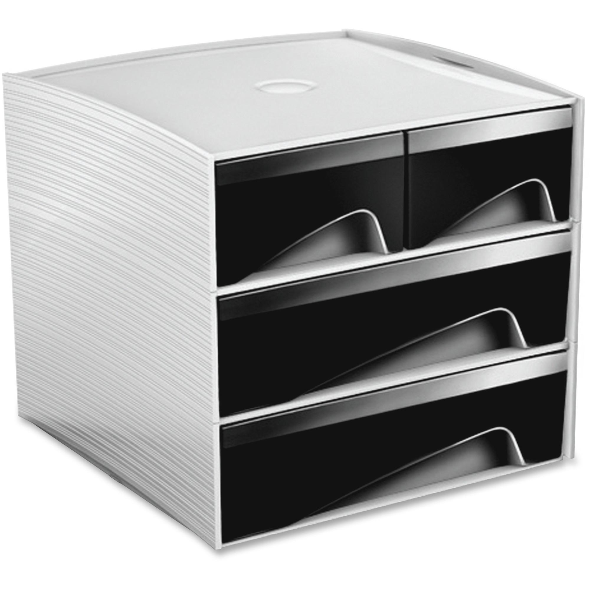 Greenside Grp Mini Storage Module Desktop Polystyrene 1each