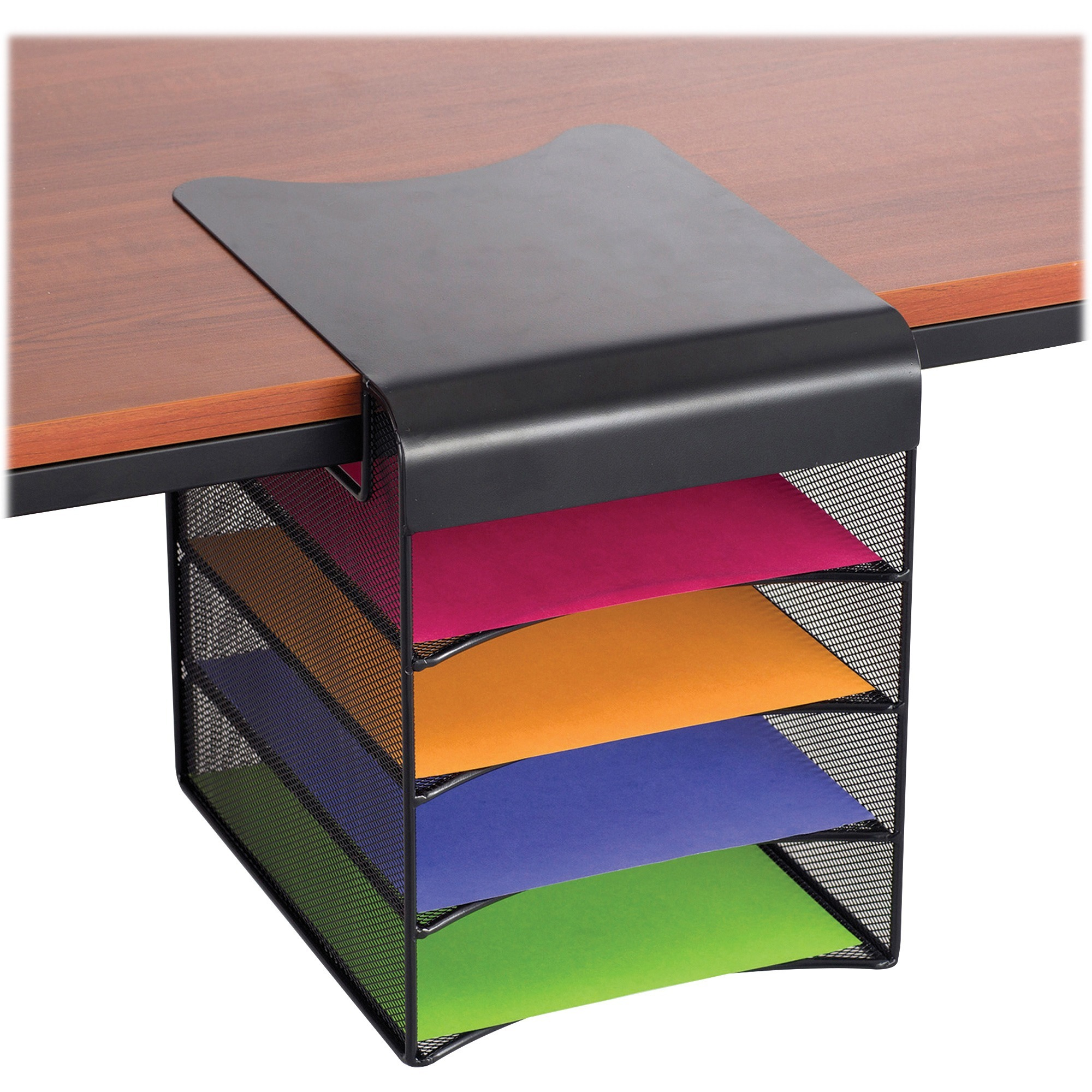 stacked product paper organizer holder rzaw desk stages stacking sorter tray fullxfull wooden storage il file organization