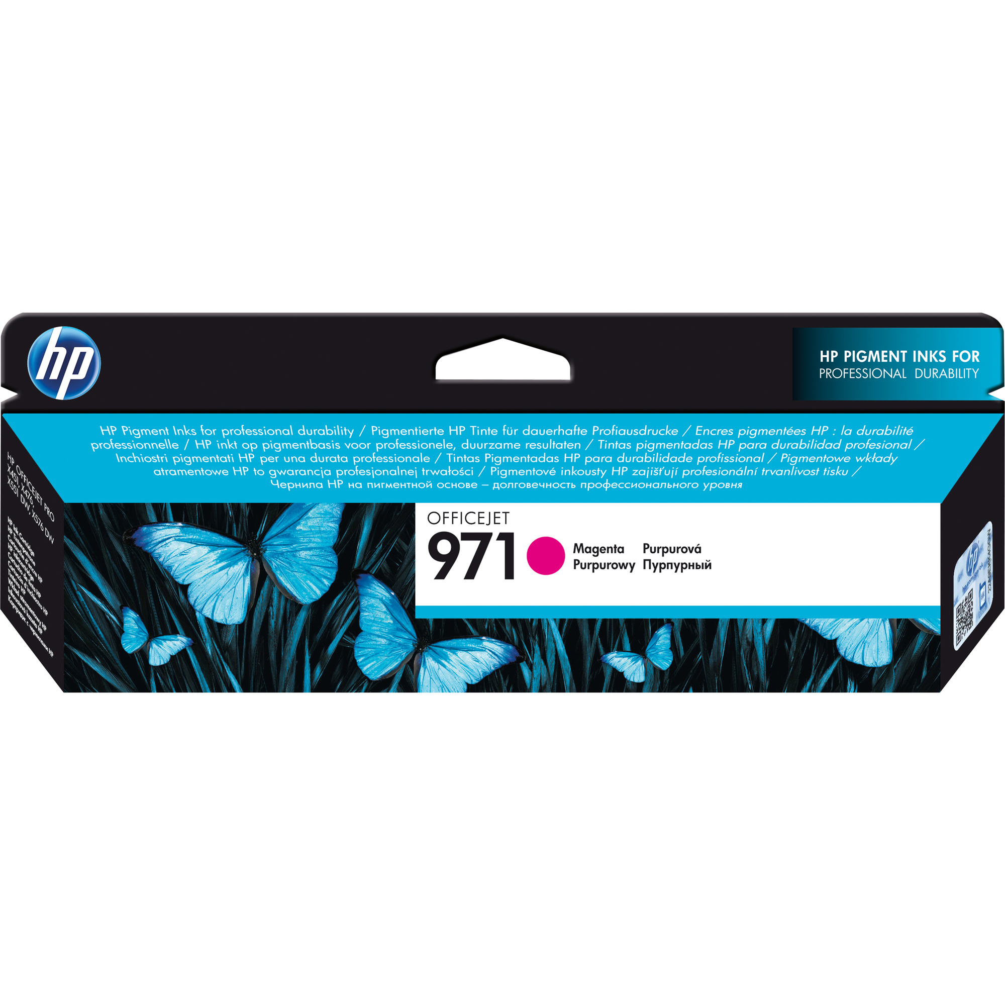 HP 971 Ink Cartridge - Magenta