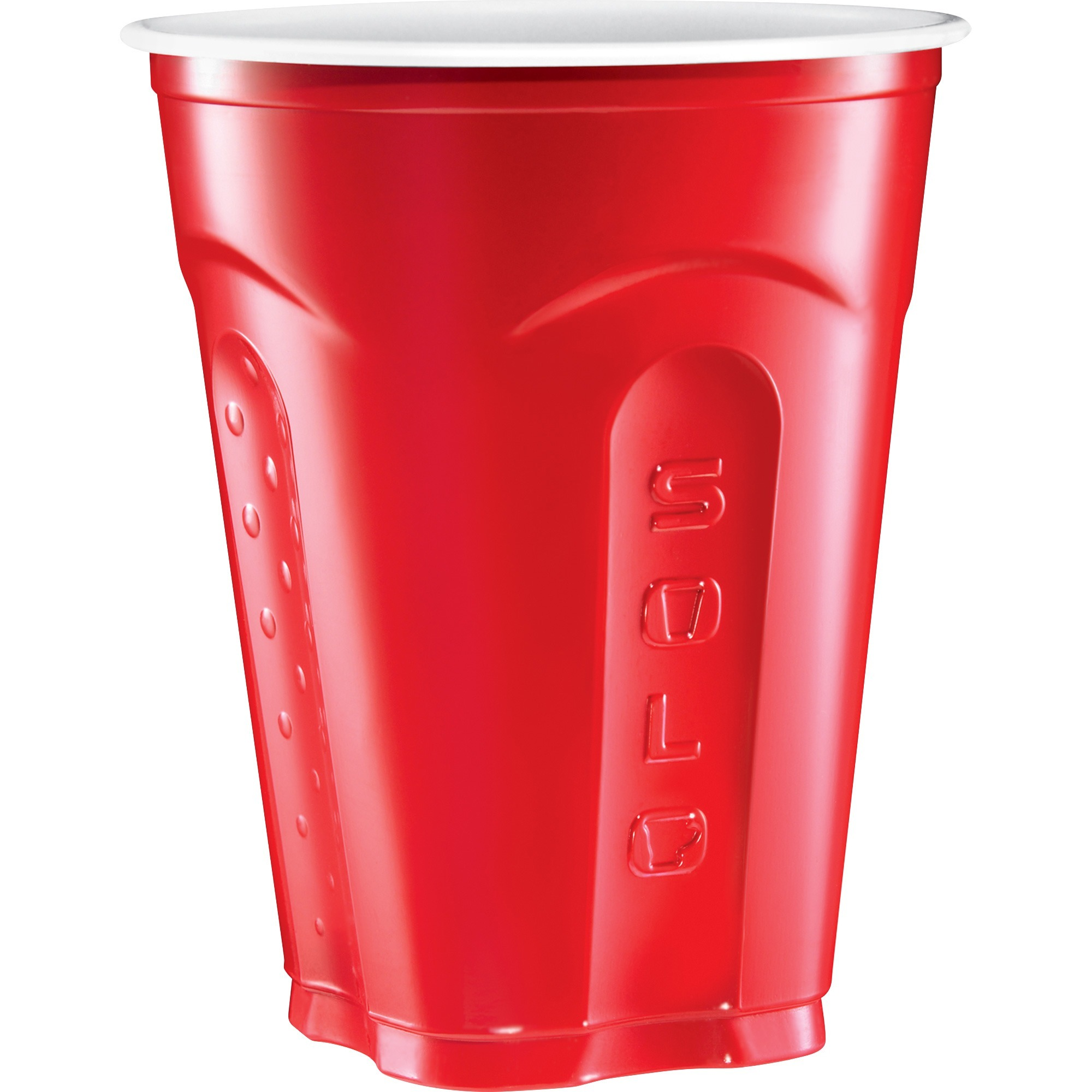 Dart Container Corporation Solo Squared Plastic Cups - 18 Fl Oz - 50 / Pack  - Multi - Plastic - Party, Cold Drink, Beverage, Juice, Soda