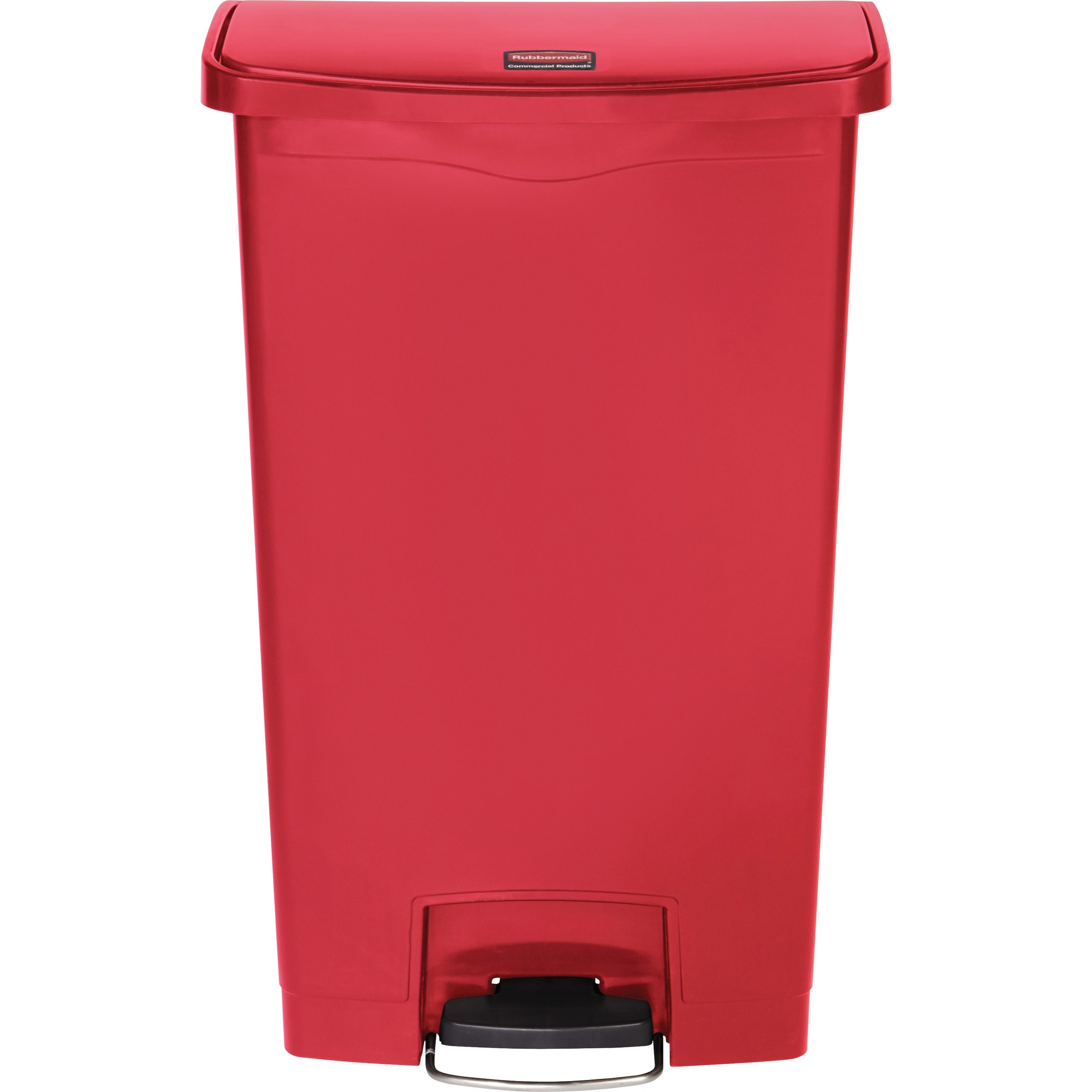 Wondrous Rubbermaid Commercial Products Rubbermaid Commercial Slim Jim 18 Gal Step On Container Step On Opening Hinged Lid 18 Gallon Capacity Manual Pdpeps Interior Chair Design Pdpepsorg