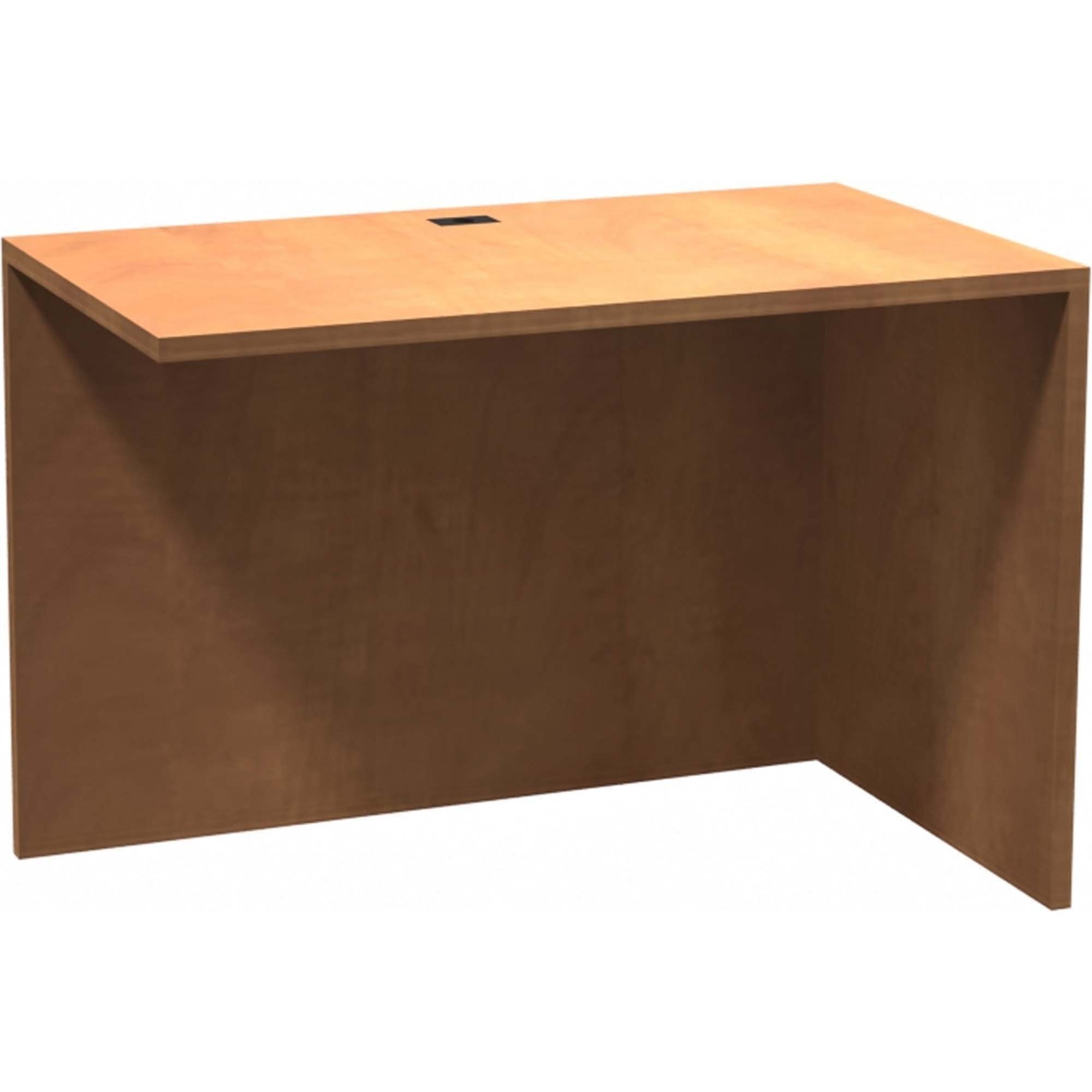 Heartwood Innovations Sugar Maple Laminated Desk Suites Top 41 5 X 23 8 29 Material Wood Grain Particleboard Polyvinyl Chloride Pvc